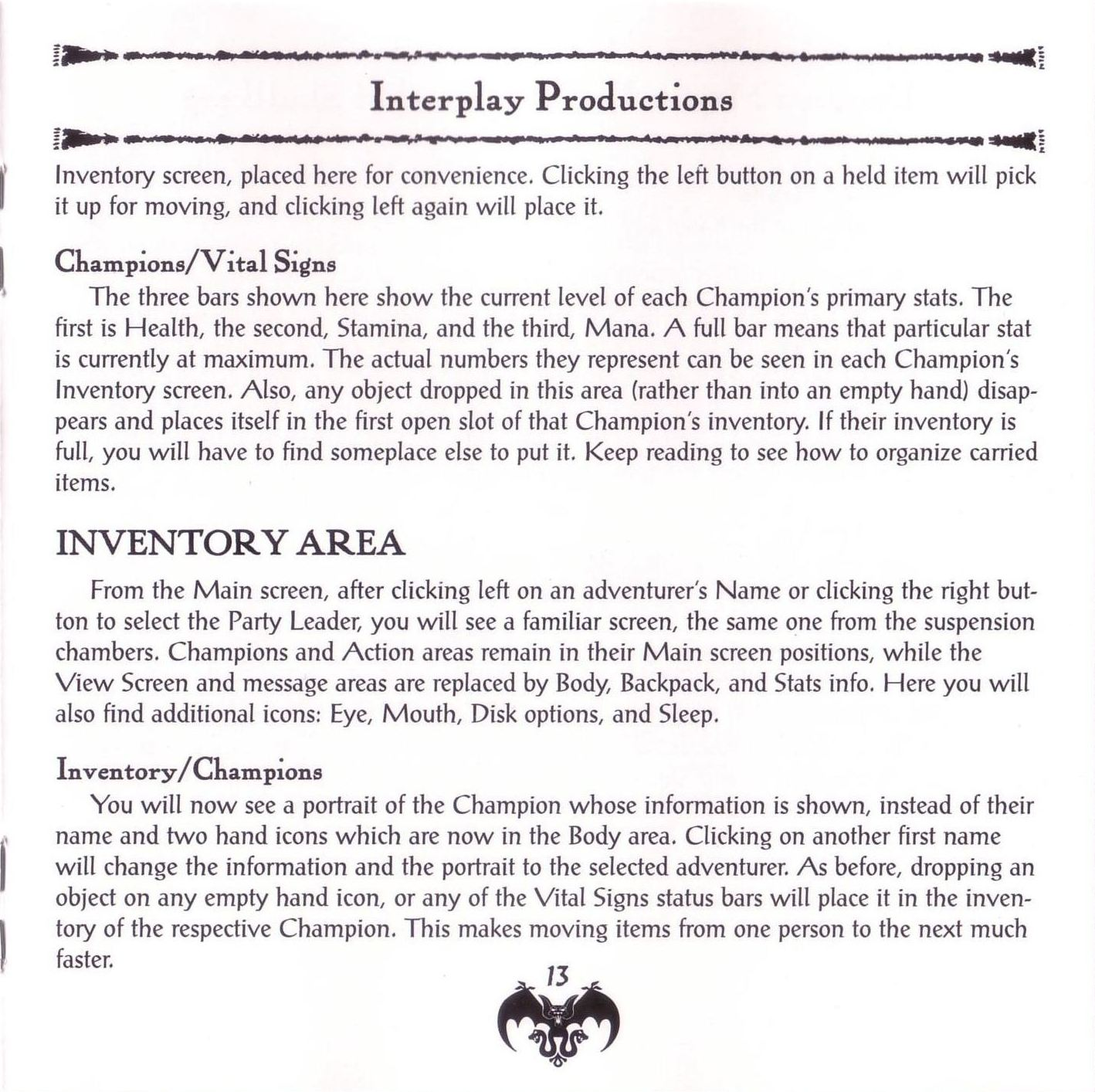 Game - Dungeon Master II - US - PC - Jewel Case - Booklet - Page 015 - Scan