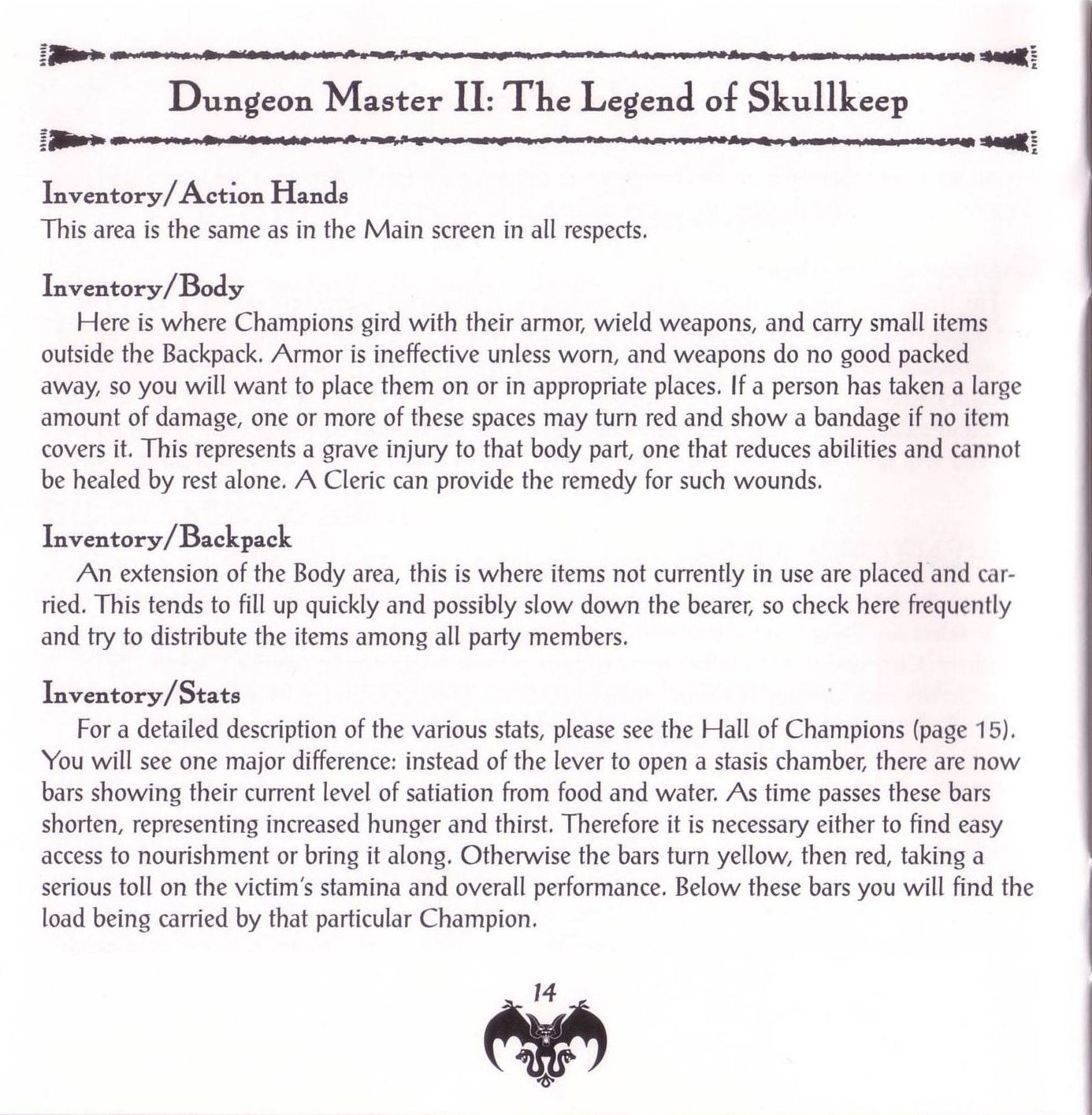 Game - Dungeon Master II - US - PC - Jewel Case - Booklet - Page 016 - Scan
