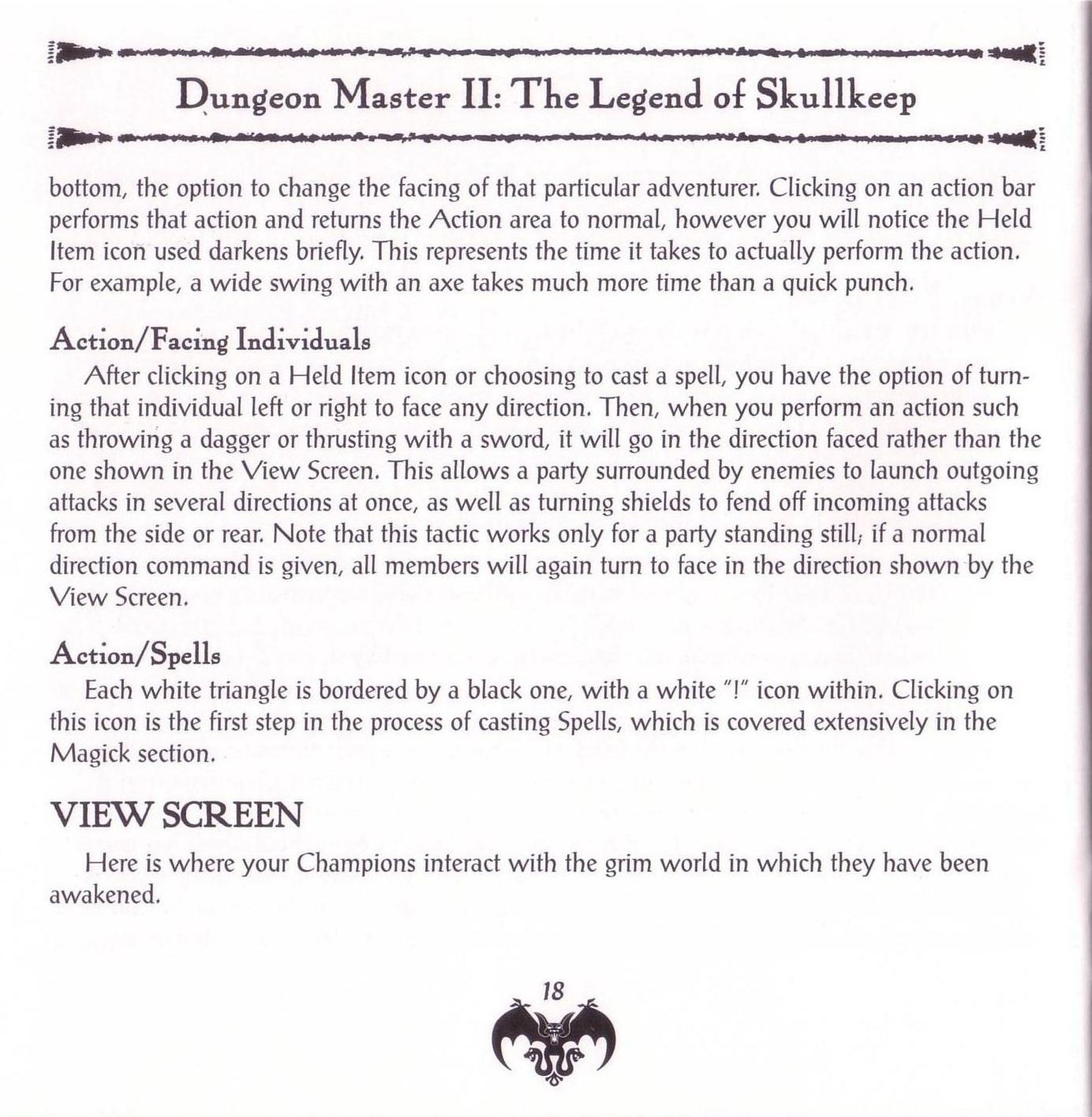Game - Dungeon Master II - US - PC - Jewel Case - Booklet - Page 020 - Scan