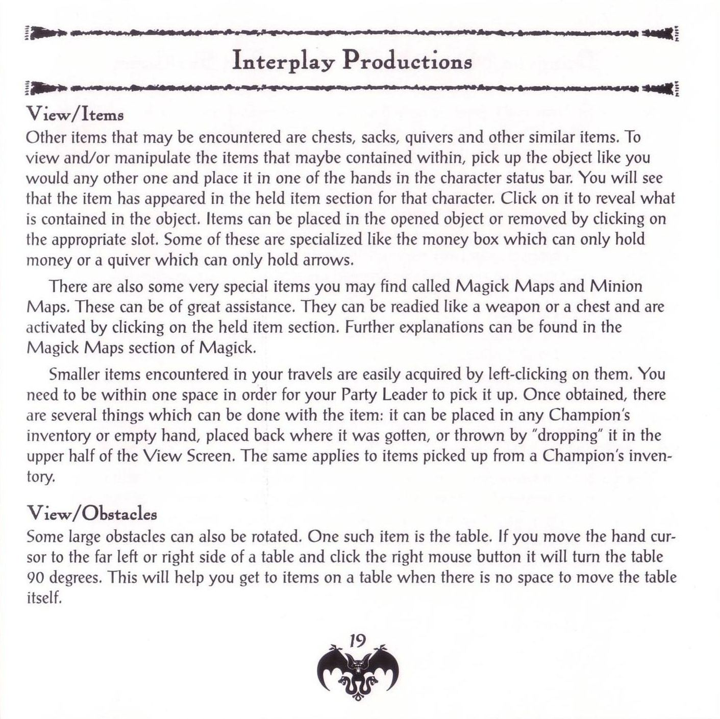 Game - Dungeon Master II - US - PC - Jewel Case - Booklet - Page 021 - Scan