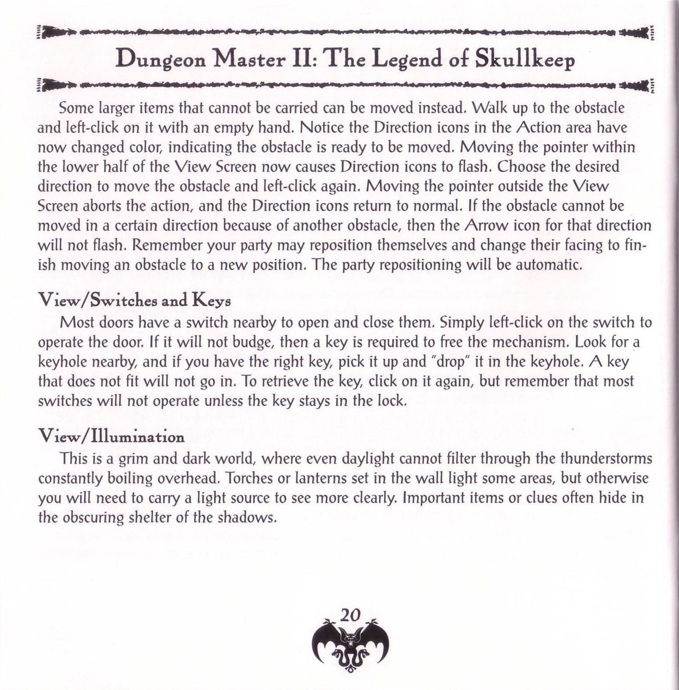 Game - Dungeon Master II - US - PC - Jewel Case - Booklet - Page 022 - Scan