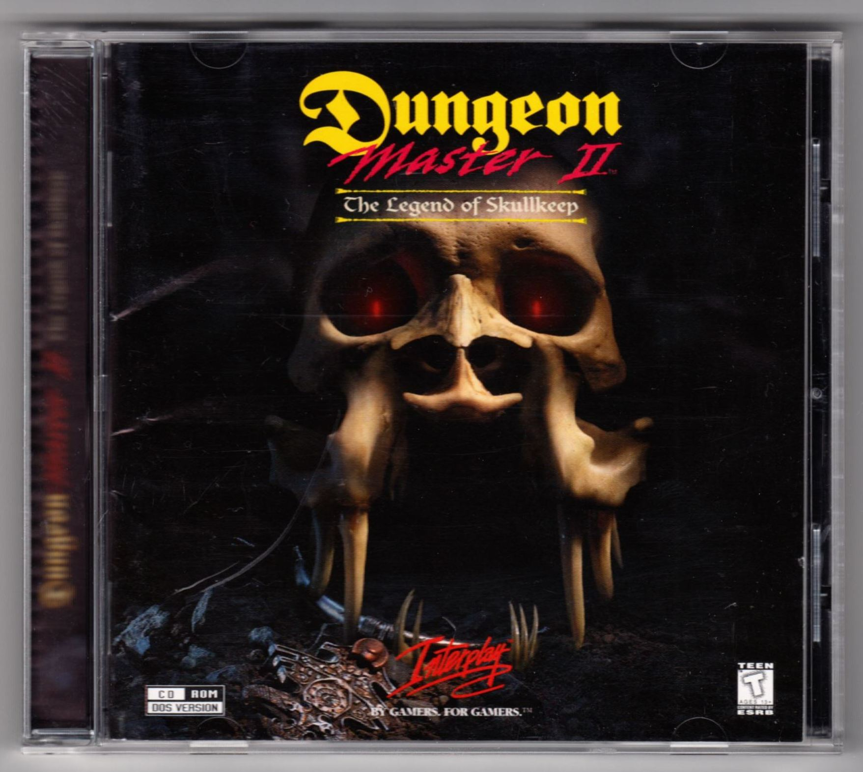 Game - Dungeon Master II - US - PC - Jewel Case - Box - Front - Scan