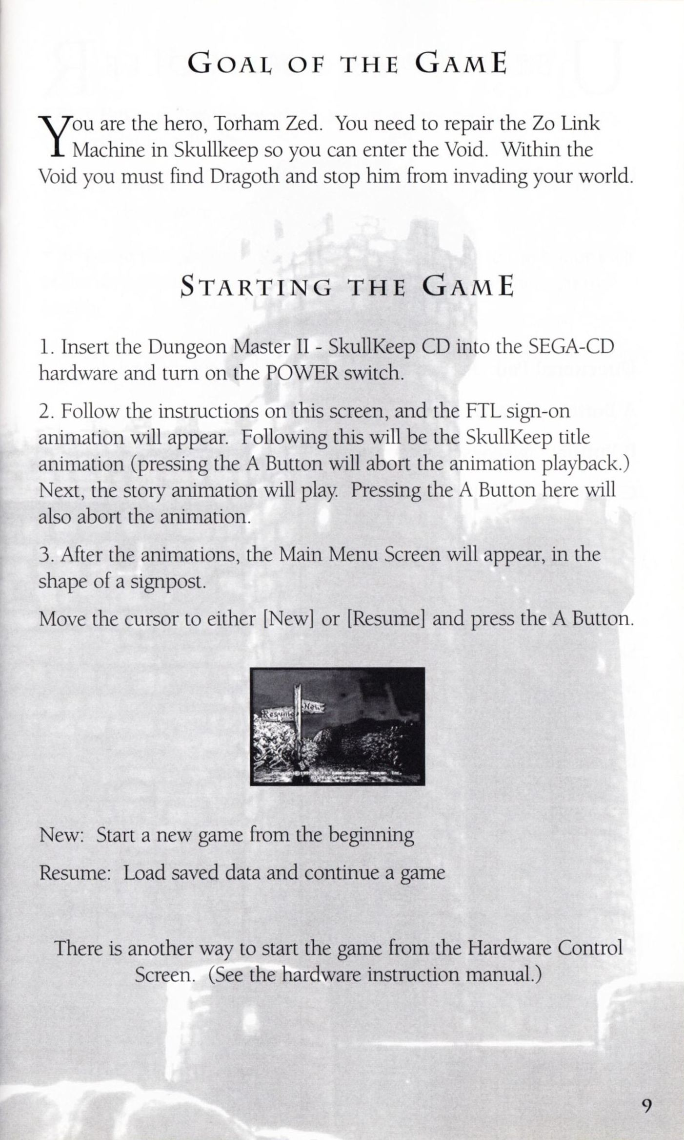 Game - Dungeon Master II - US - Sega CD - Booklet - Page 011 - Scan