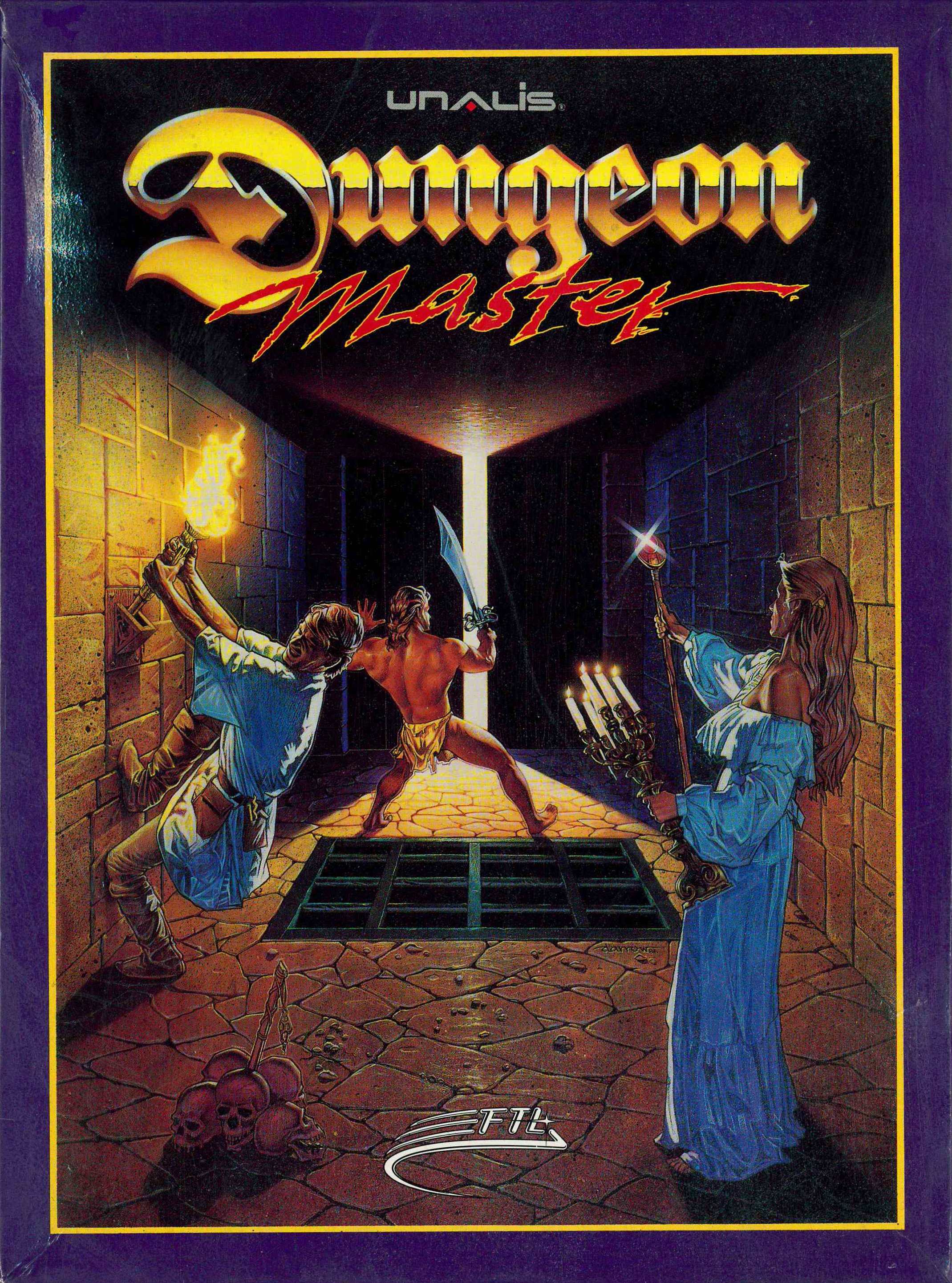 Game - Dungeon Master - CN - PC - Box - Front - Scan