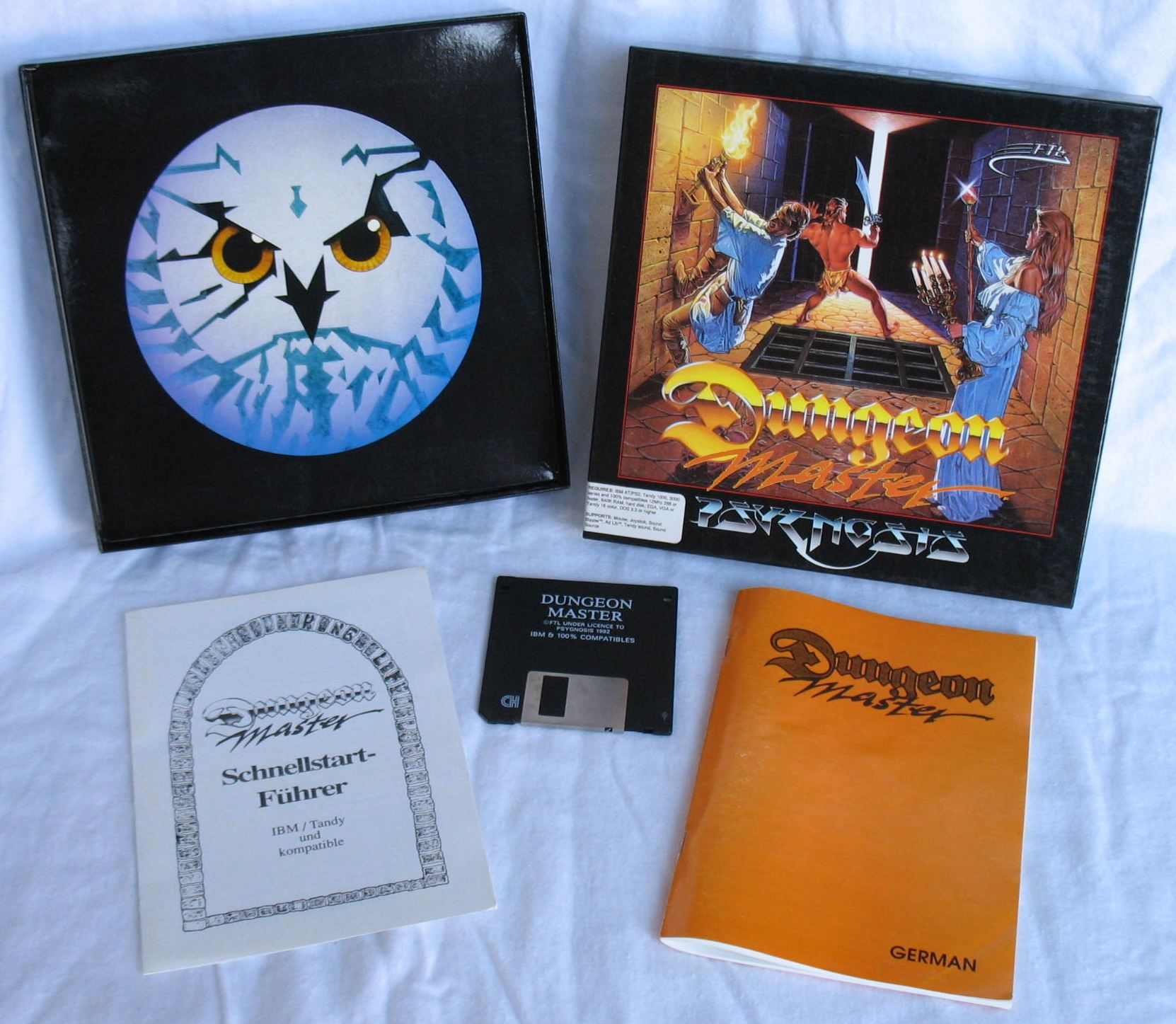 Game - Dungeon Master - DE - PC - Psygnosis - All - Overview - Photo
