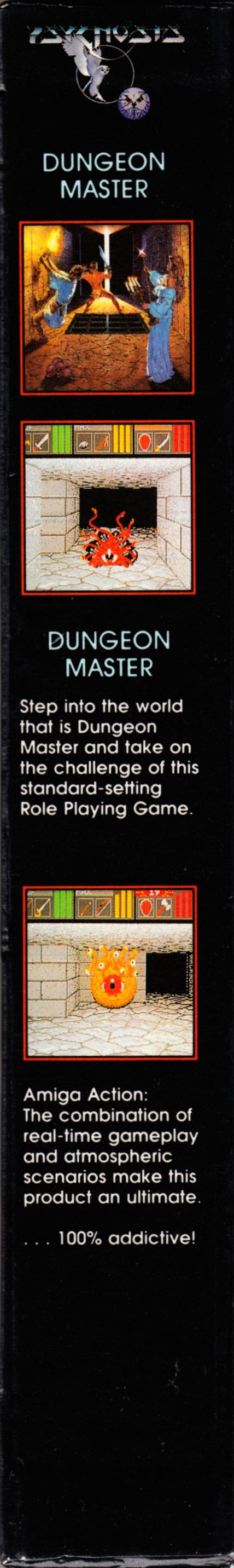 Game - Dungeon Master - DE - PC - Psygnosis - Box - Right - Scan