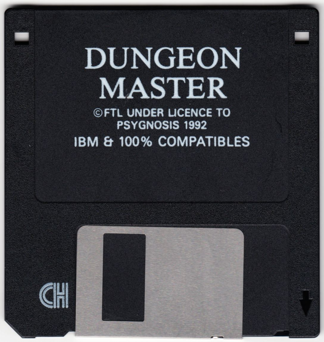 Game - Dungeon Master - DE - PC - Psygnosis - Disk - Front - Scan