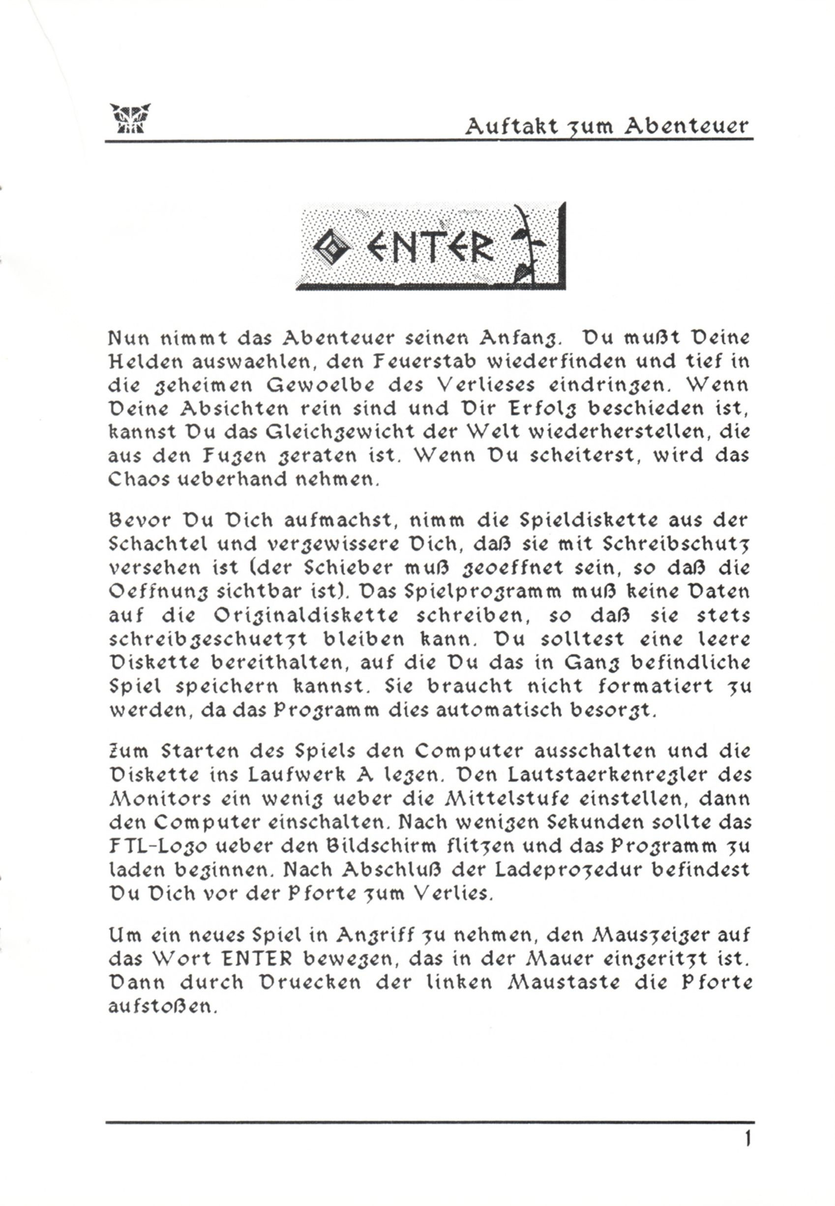 Game - Dungeon Master - DE - PC - Psygnosis - Manual - Page 027 - Scan