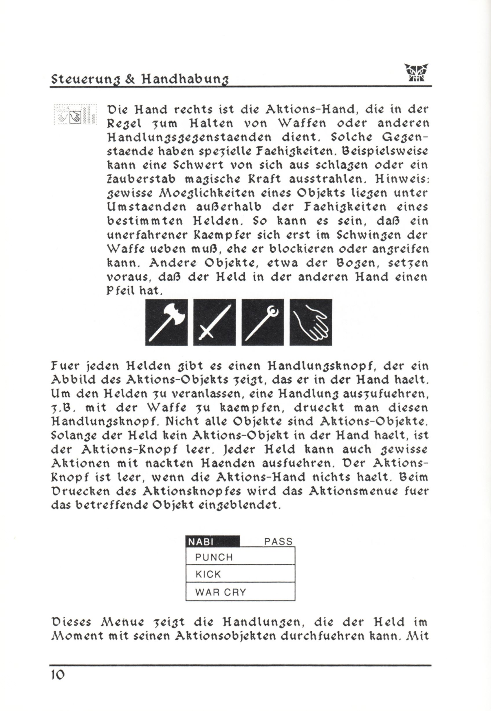 Game - Dungeon Master - DE - PC - Psygnosis - Manual - Page 036 - Scan