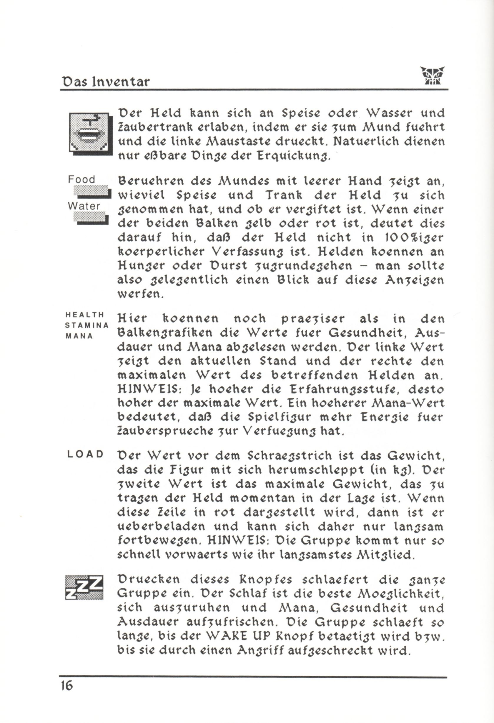 Game - Dungeon Master - DE - PC - Psygnosis - Manual - Page 042 - Scan