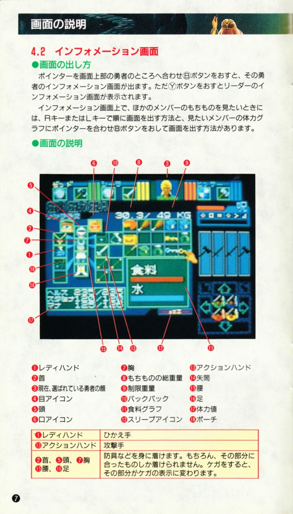 Game - Dungeon Master - JP - Super Famicom - Manual - Page 010 - Scan