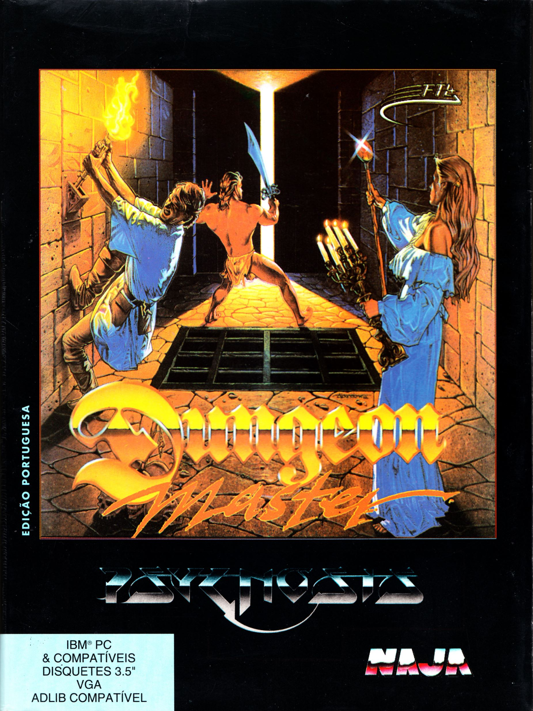 Game - Dungeon Master - PT - PC - Psygnosis - Box - Front - Scan