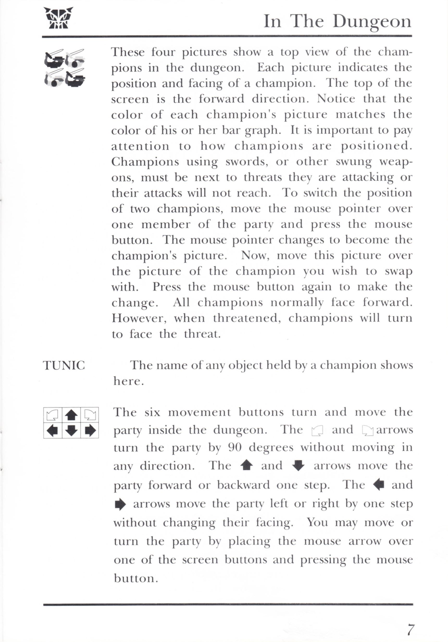 Game - Dungeon Master - UK - PC - Psygnosis - Manual - Page 027 - Scan