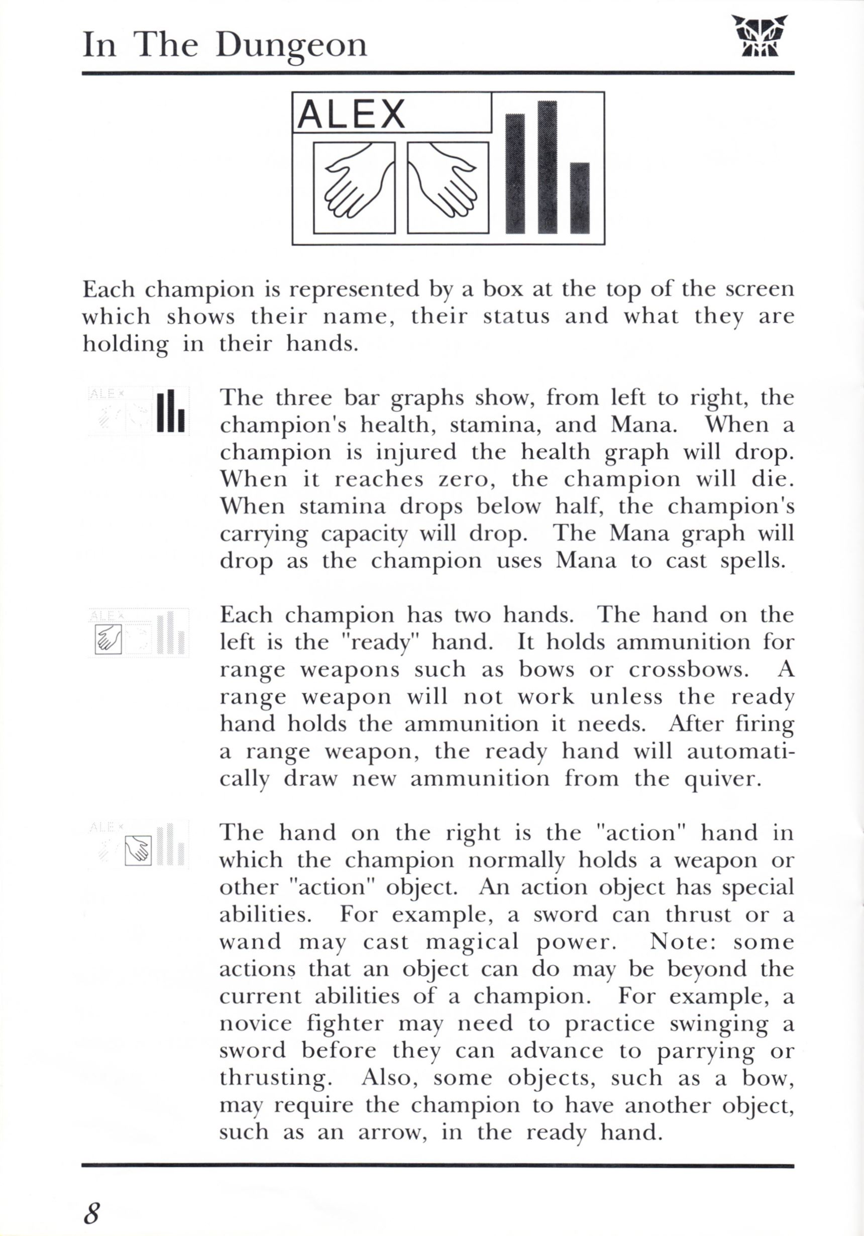 Game - Dungeon Master - UK - PC - Psygnosis - Manual - Page 028 - Scan
