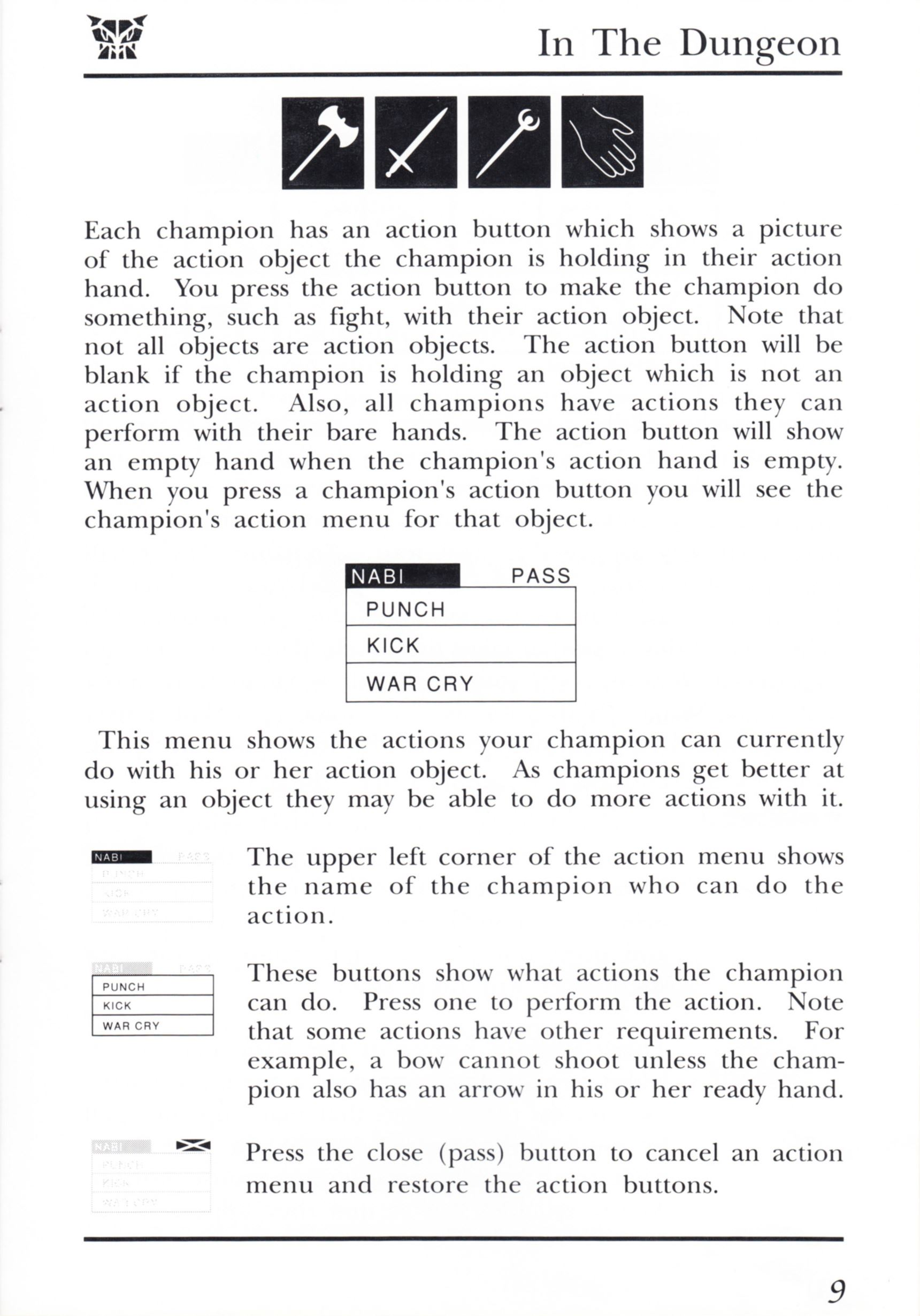Game - Dungeon Master - UK - PC - Psygnosis - Manual - Page 029 - Scan