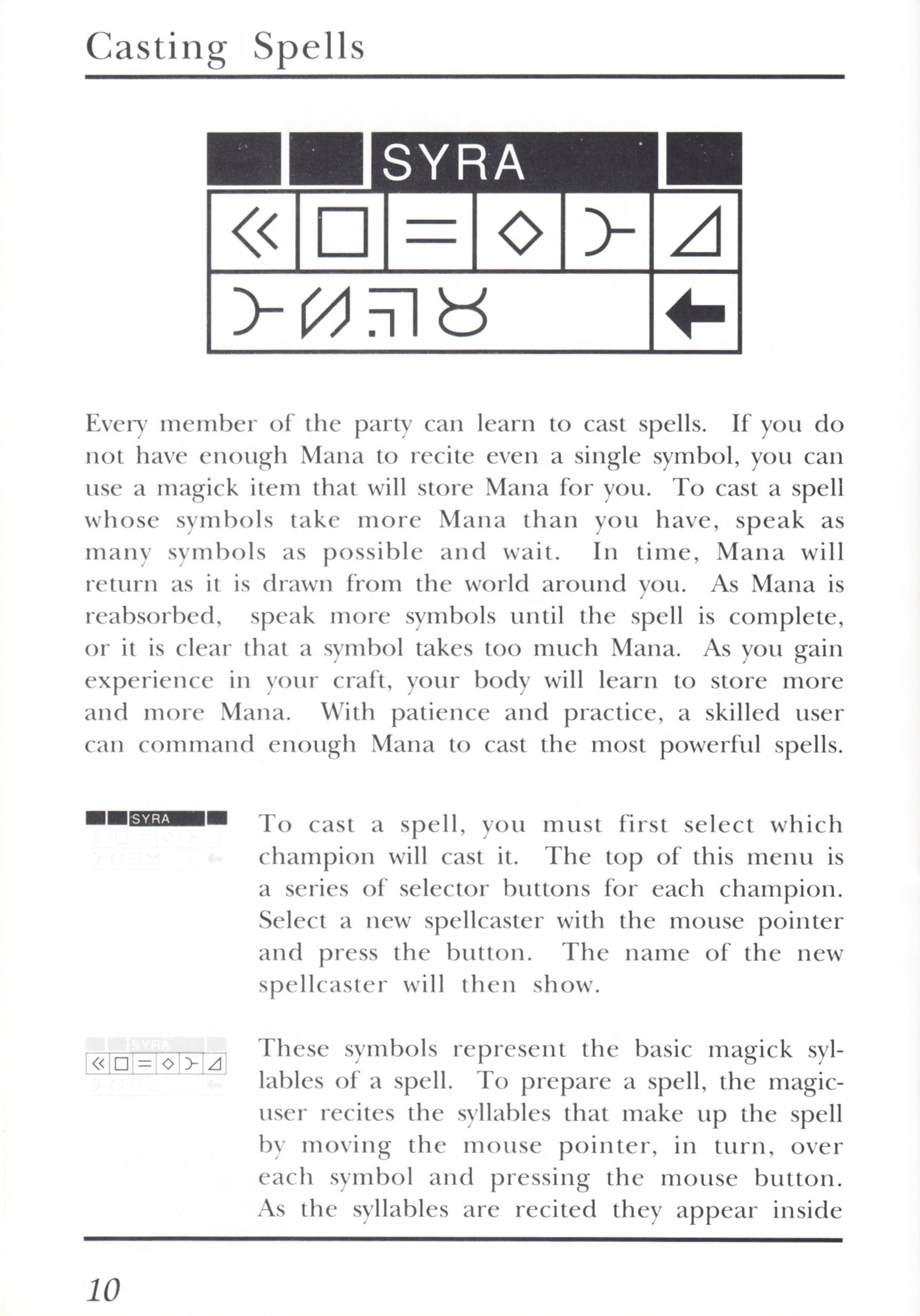 Game - Dungeon Master - UK - PC - Psygnosis - Manual - Page 030 - Scan