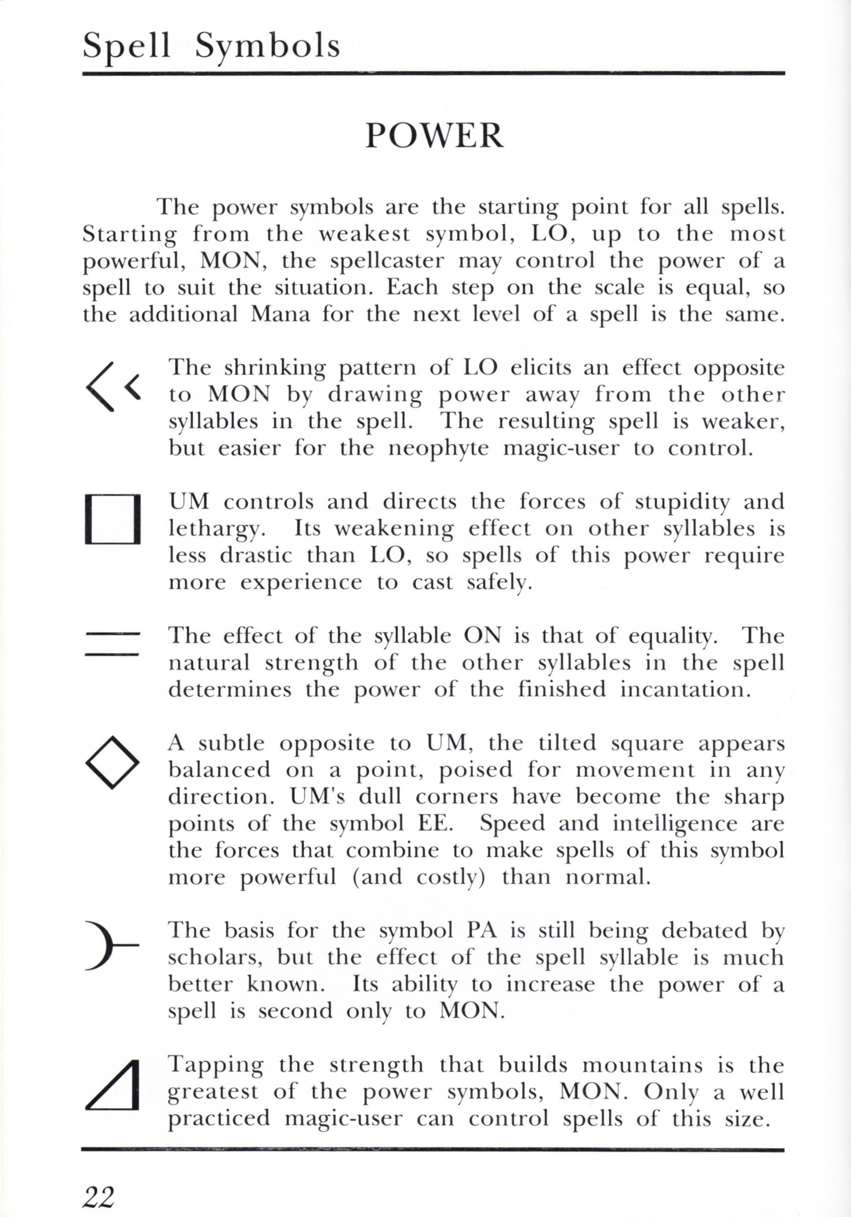 Game - Dungeon Master - UK - PC - Psygnosis - Manual - Page 042 - Scan
