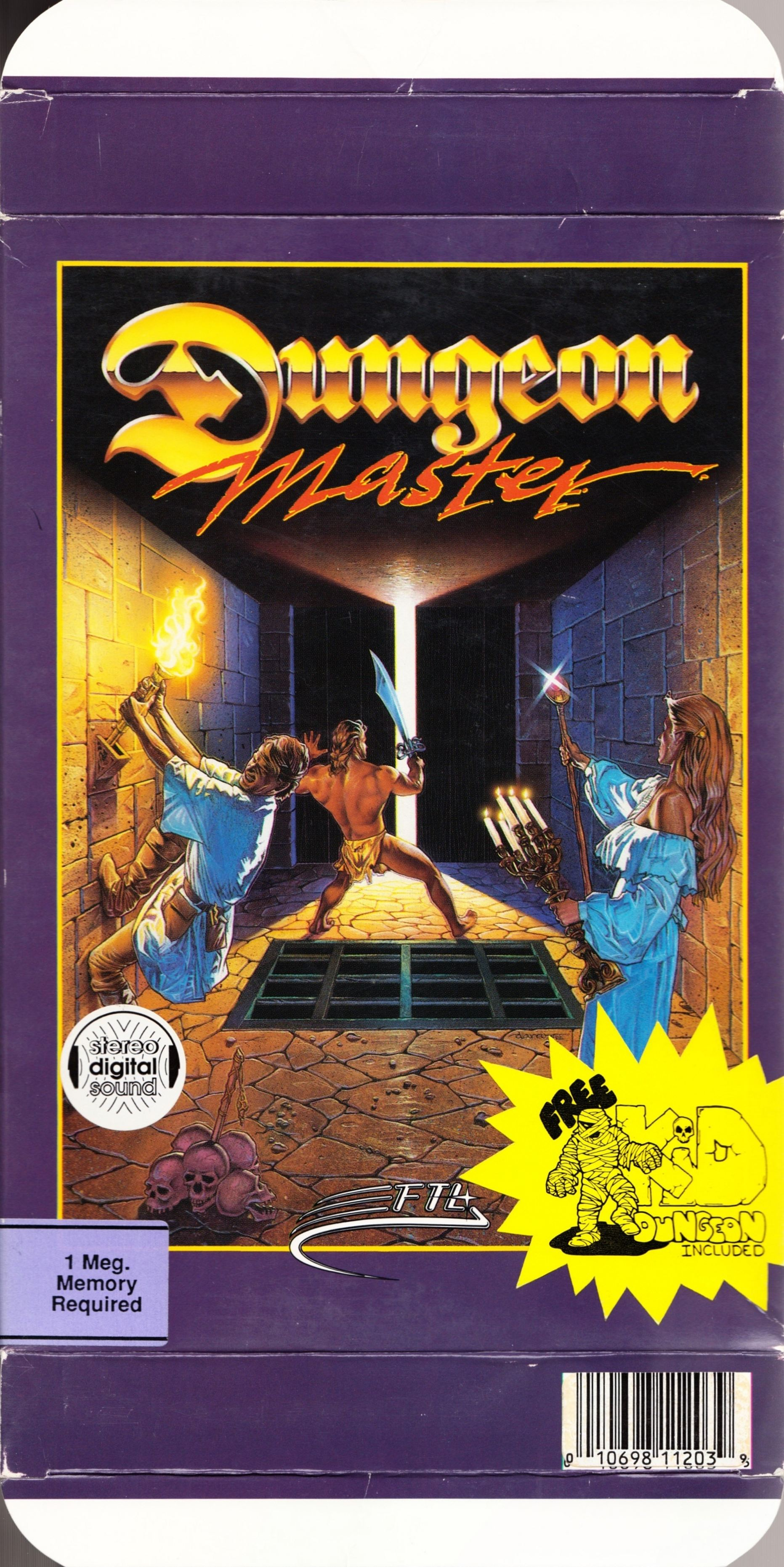 Game - Dungeon Master - US - Apple IIGS - Box - Front - Scan