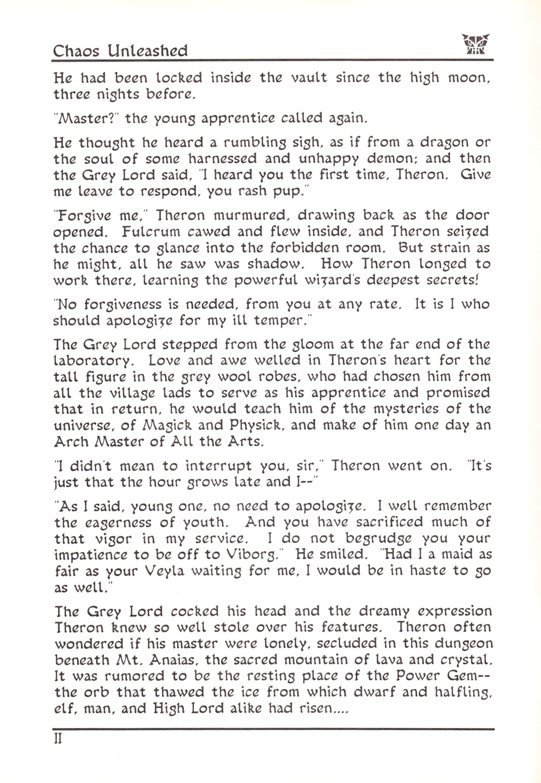 Game - Dungeon Master - US - Atari ST - Early Box - Manual - Page 008 - Scan