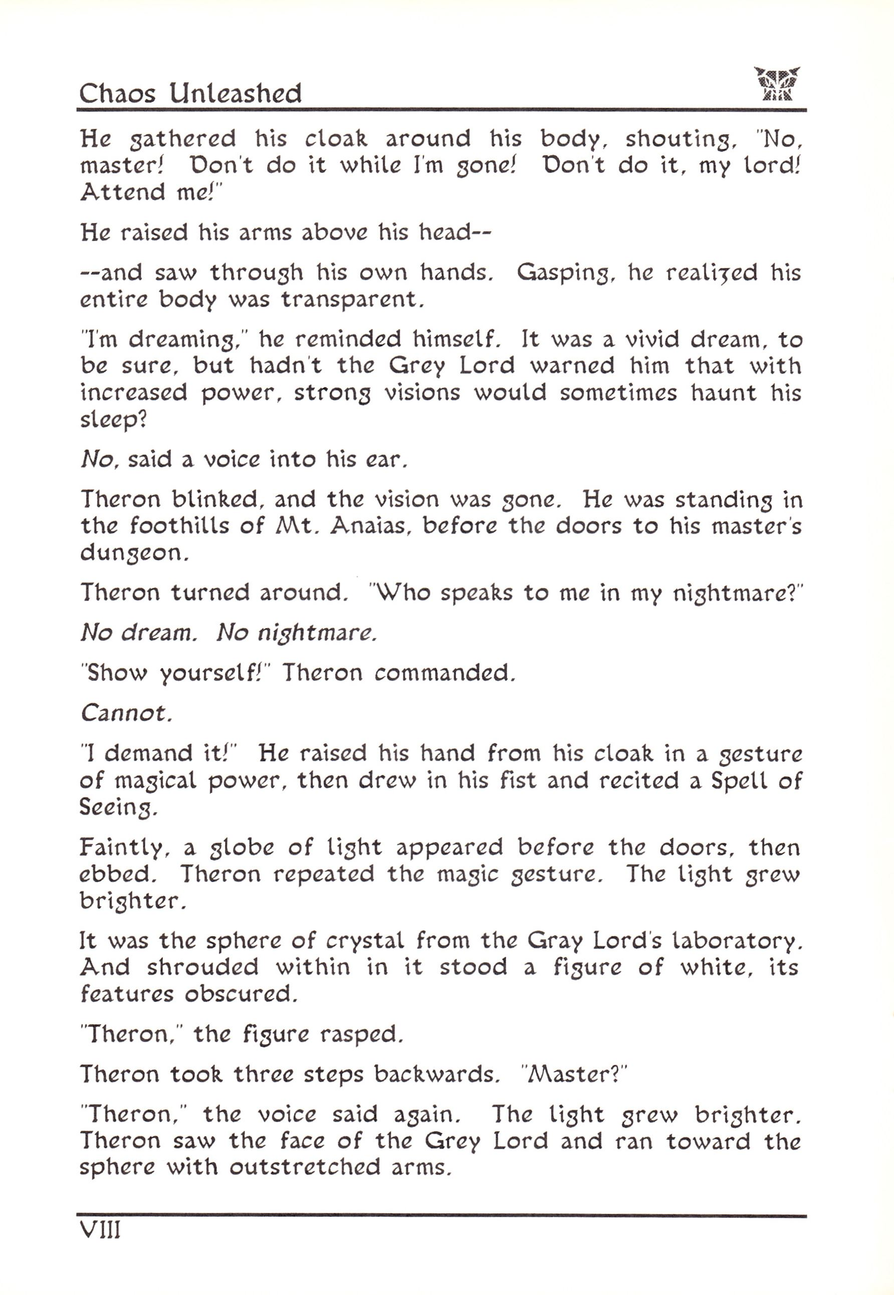 Game - Dungeon Master - US - Atari ST - Early Box - Manual - Page 014 - Scan