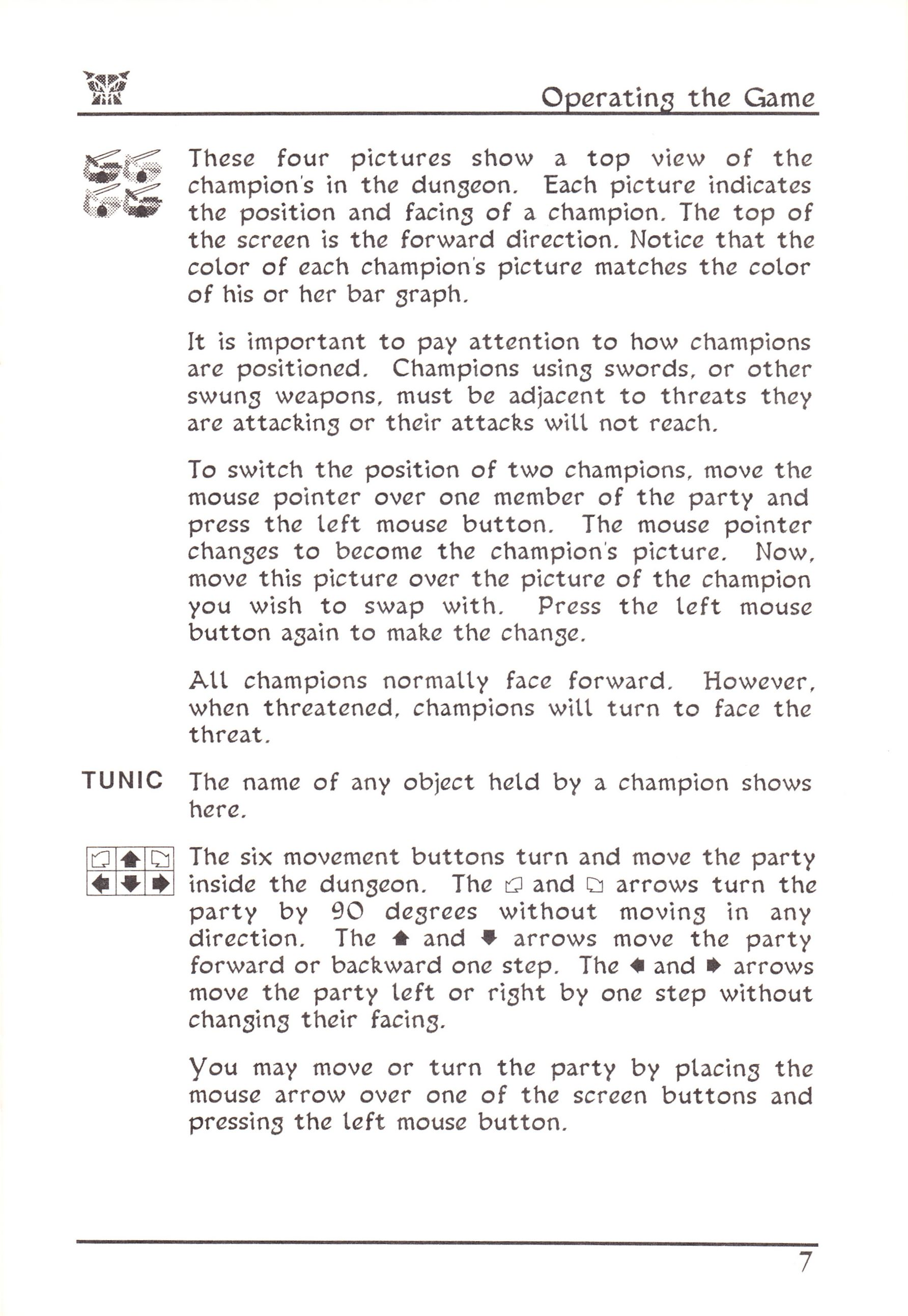 Game - Dungeon Master - US - Atari ST - Early Box - Manual - Page 031 - Scan