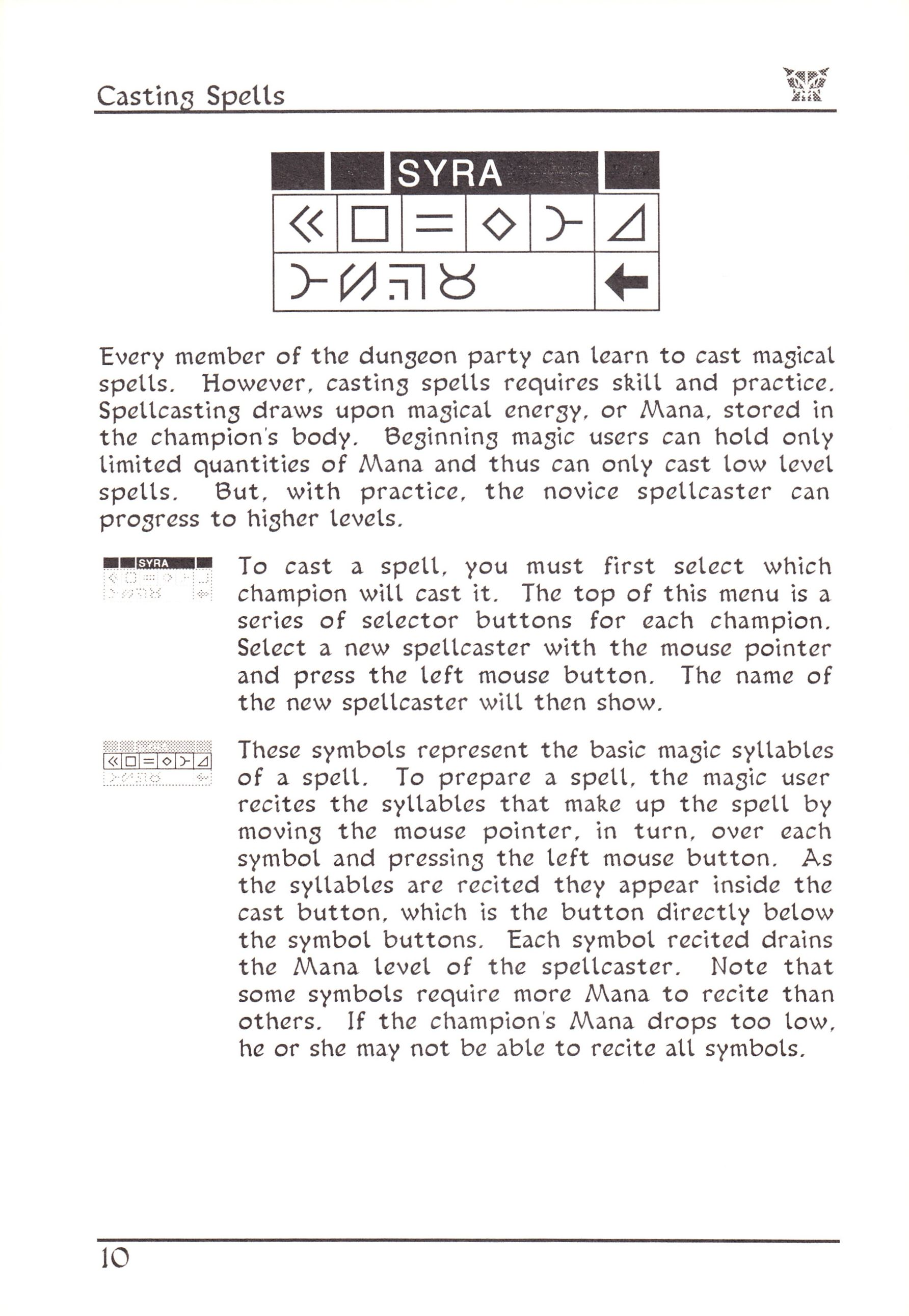 Game - Dungeon Master - US - Atari ST - Early Box - Manual - Page 034 - Scan