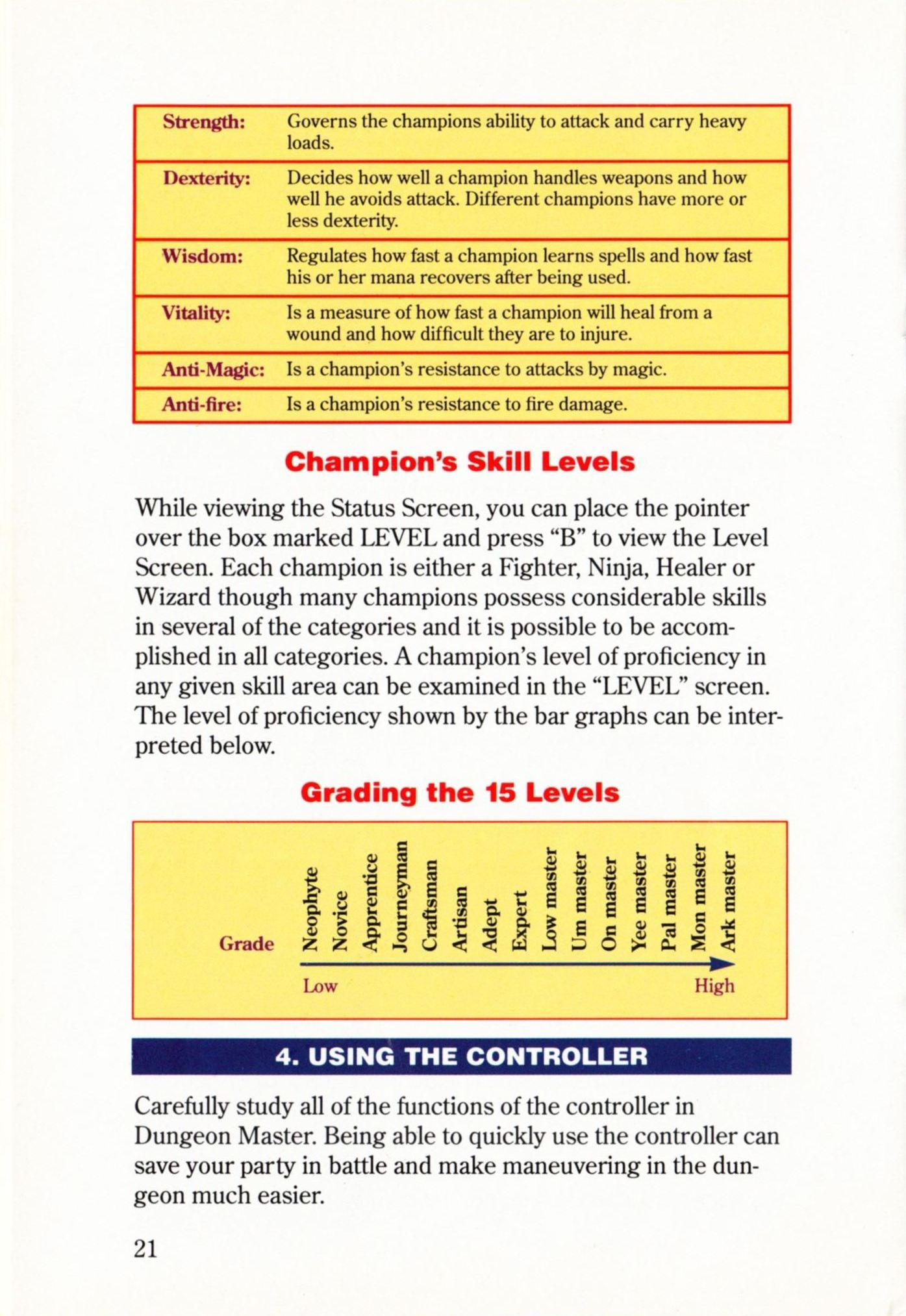 Game - Dungeon Master - US - Super NES - Manual - Page 024 - Scan