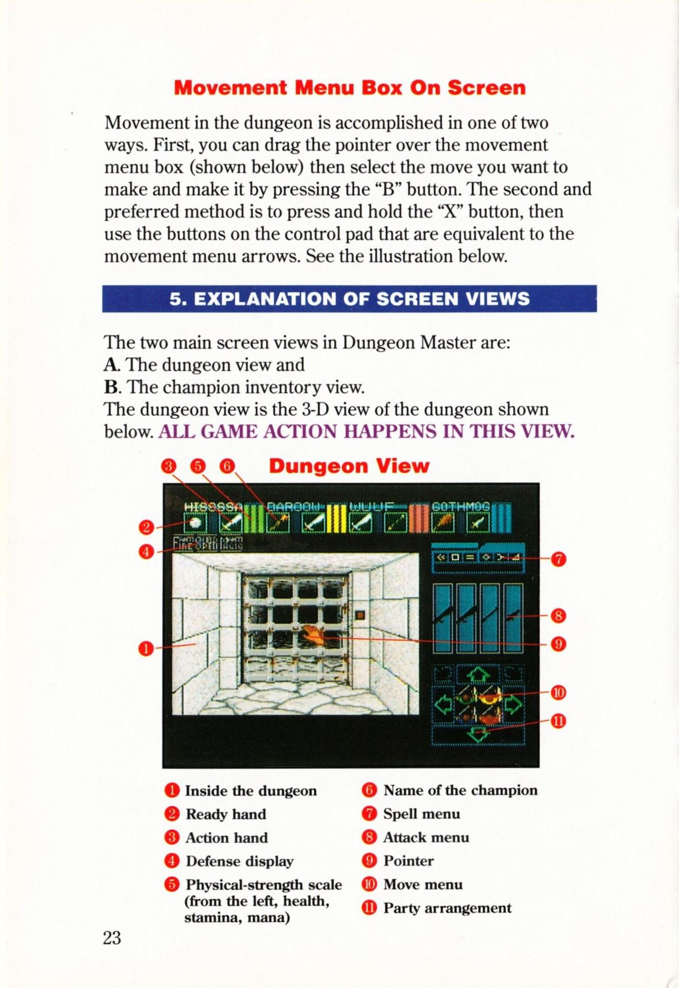 Game - Dungeon Master - US - Super NES - Manual - Page 026 - Scan