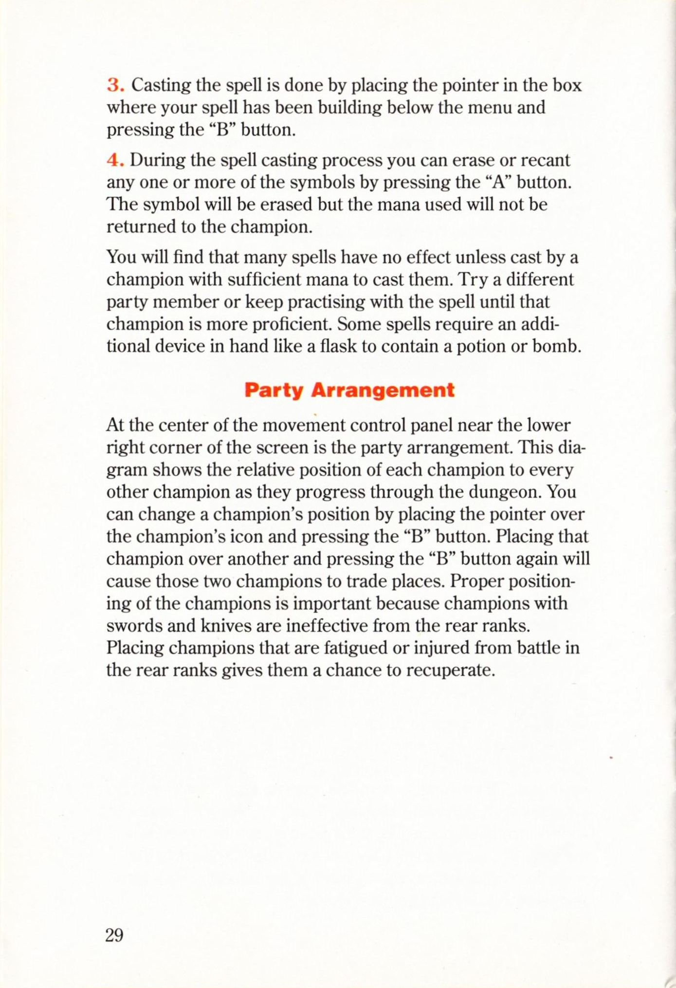 Game - Dungeon Master - US - Super NES - Manual - Page 032 - Scan