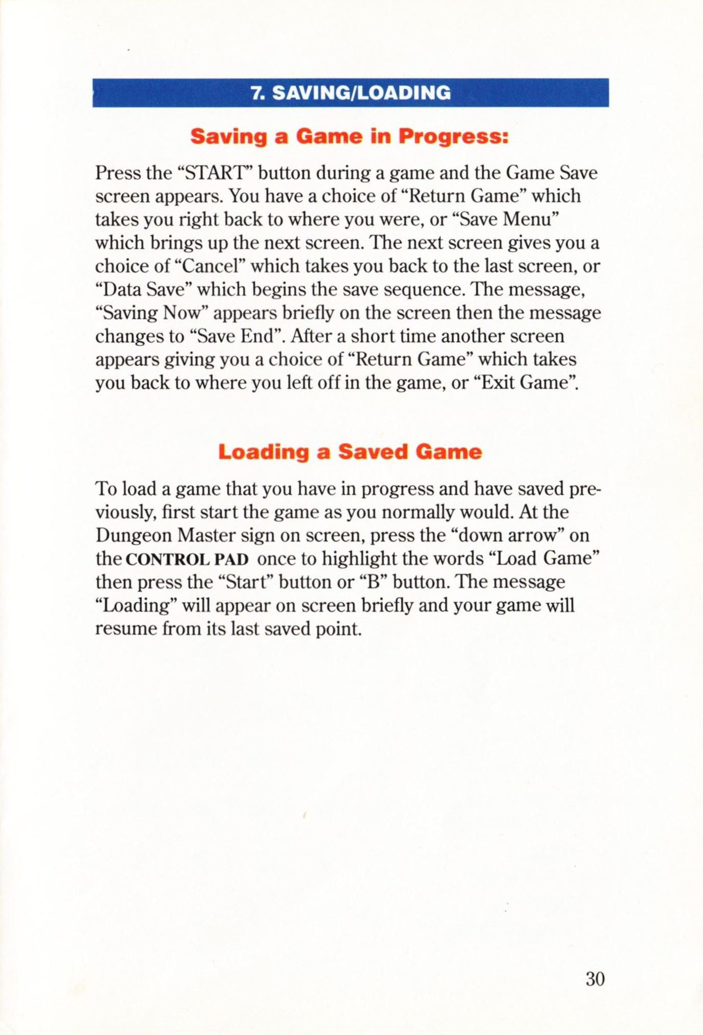 Game - Dungeon Master - US - Super NES - Manual - Page 033 - Scan