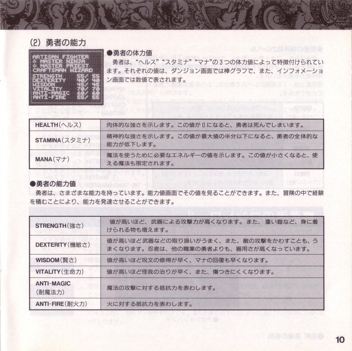 Game - Theron's Quest - JP - PC Engine - Booklet - Page 013 - Scan