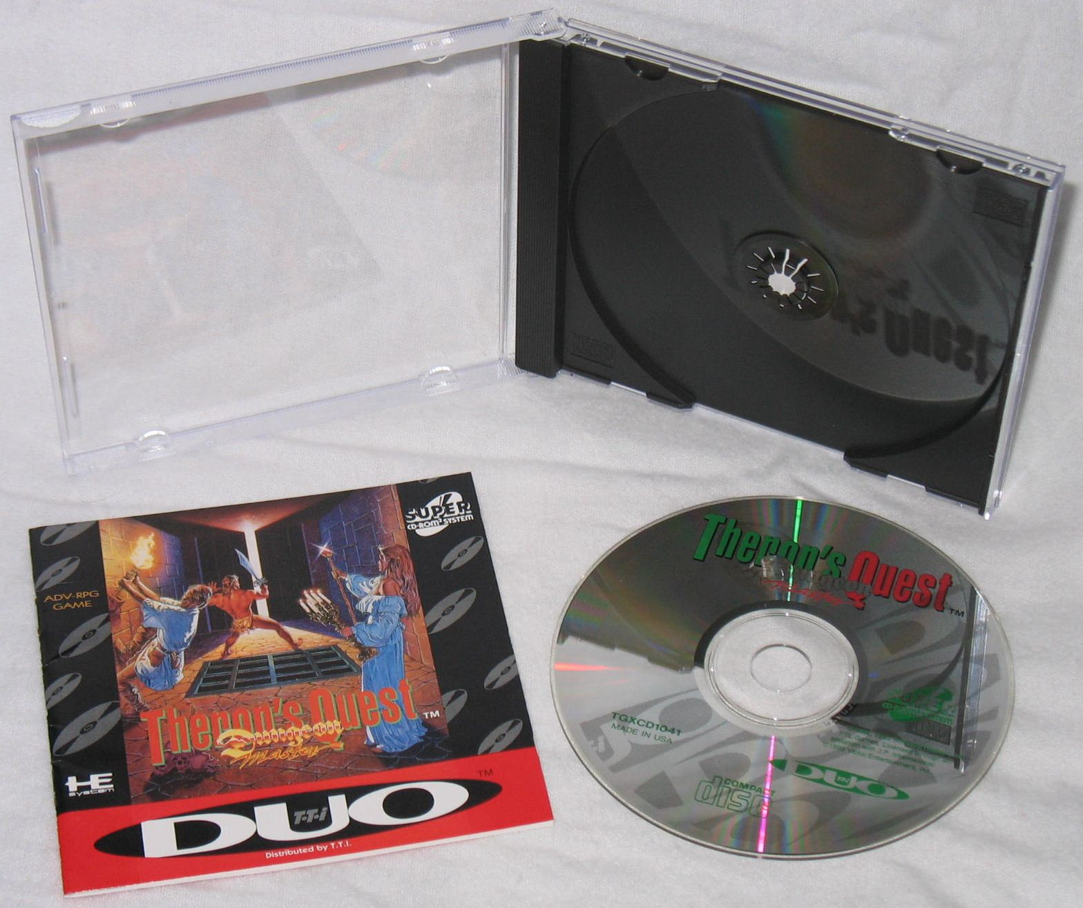 Game - Theron's Quest - US - Turbografx - All - Overview - Photo