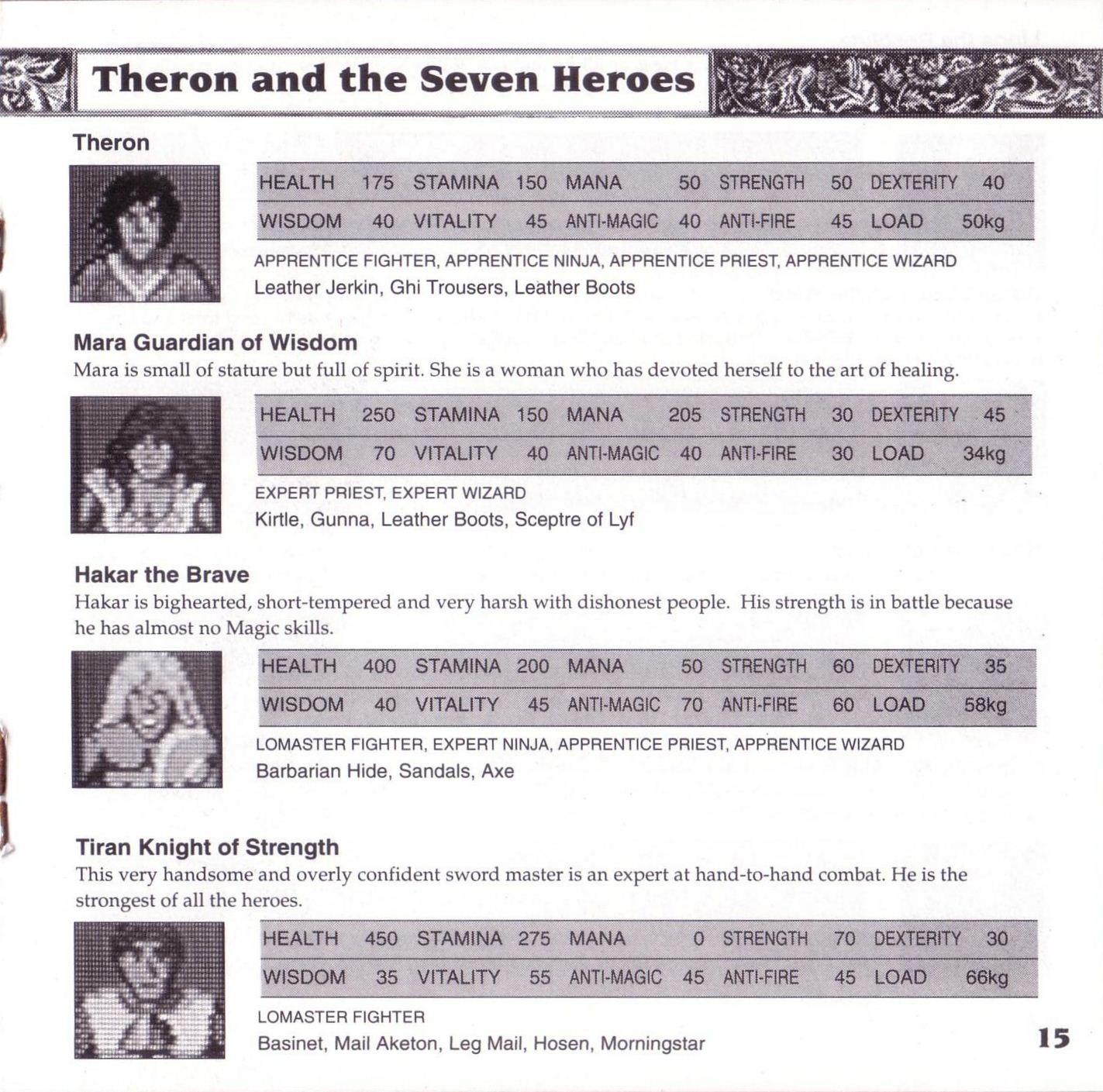 Game - Theron's Quest - US - Turbografx - Booklet - Page 017 - Scan