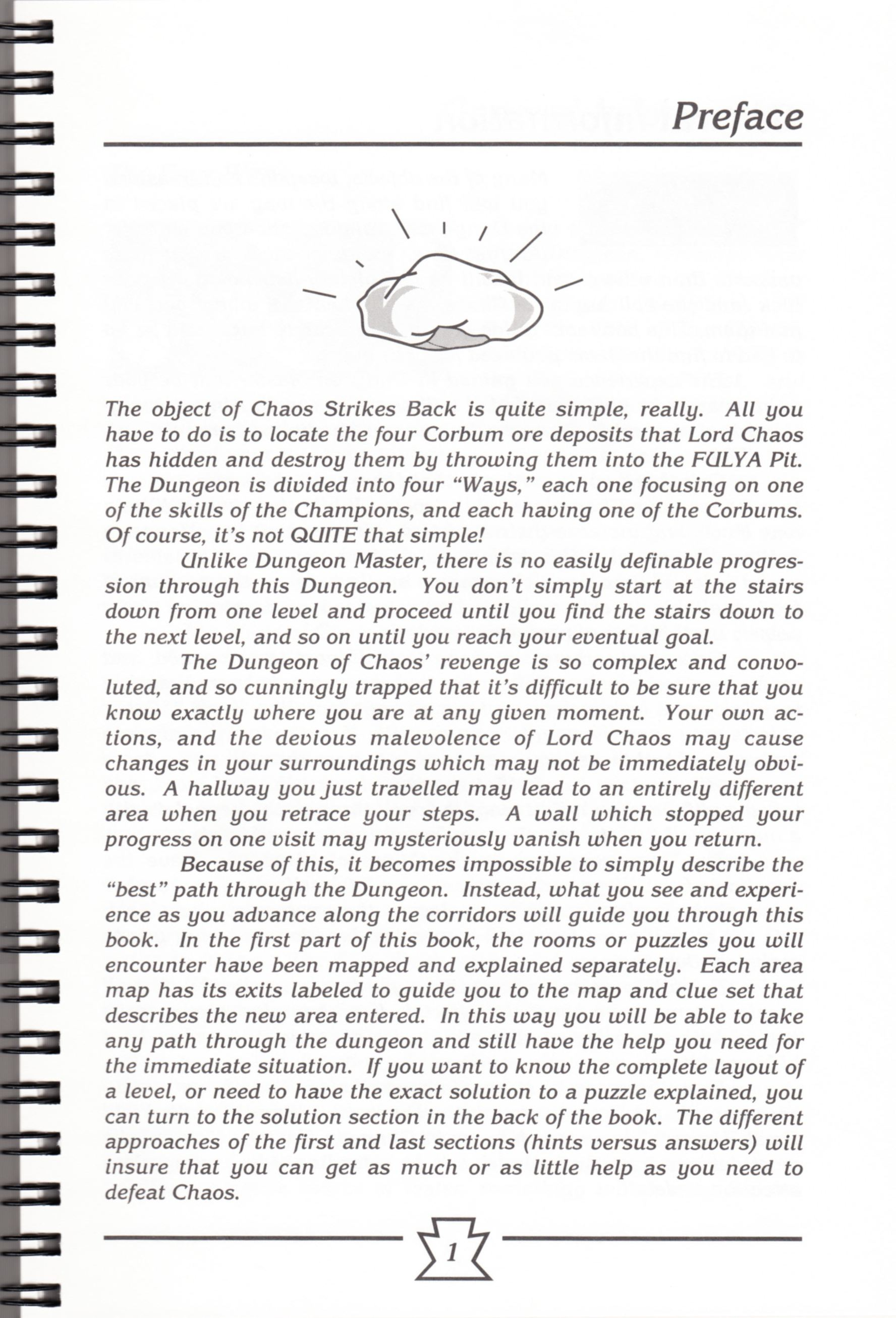 Hint Book - Chaos Strikes Back Adventurer's Handbook - US - Page 007 - Scan