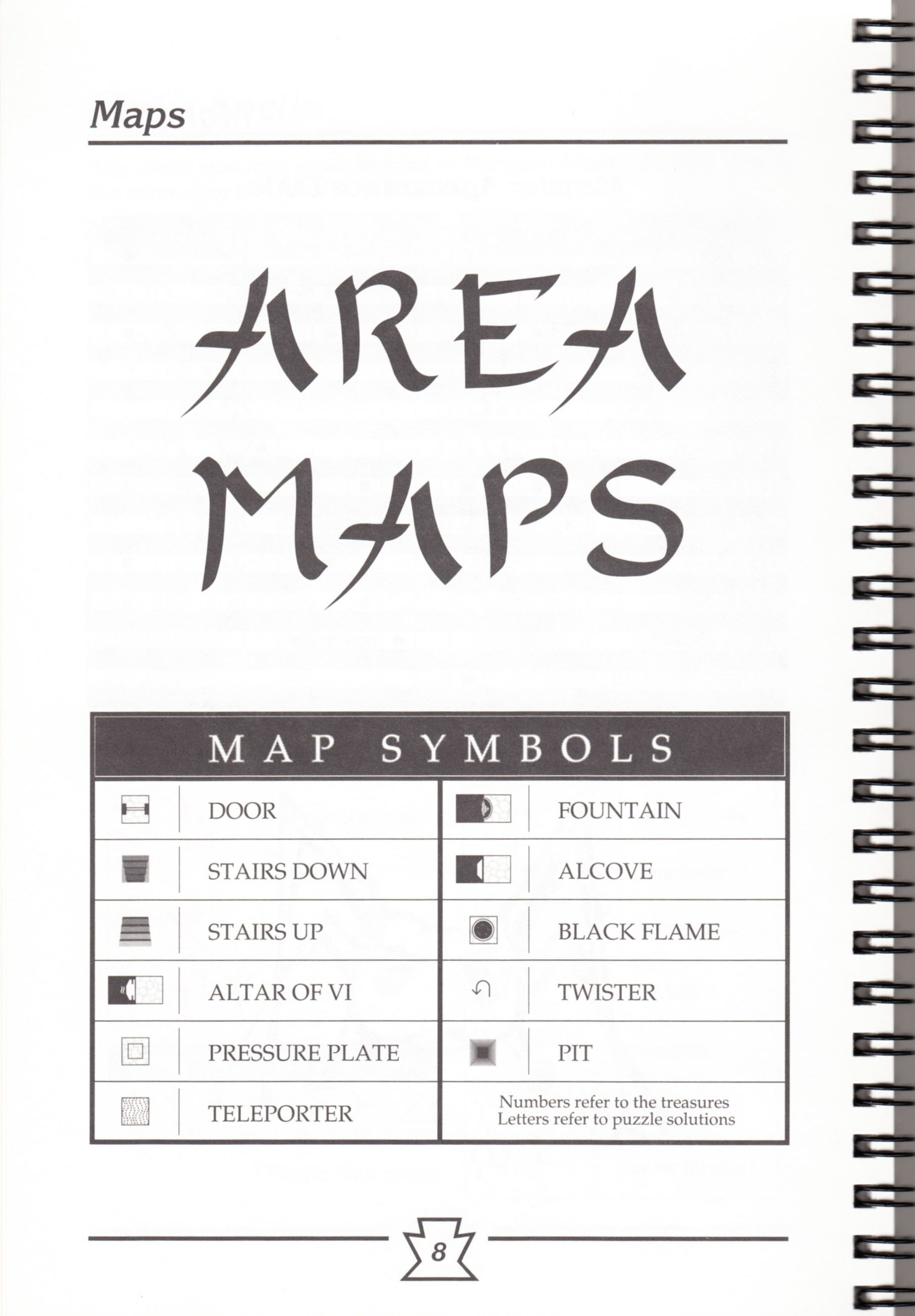 Hint Book - Chaos Strikes Back Adventurer's Handbook - US - Page 014 - Scan