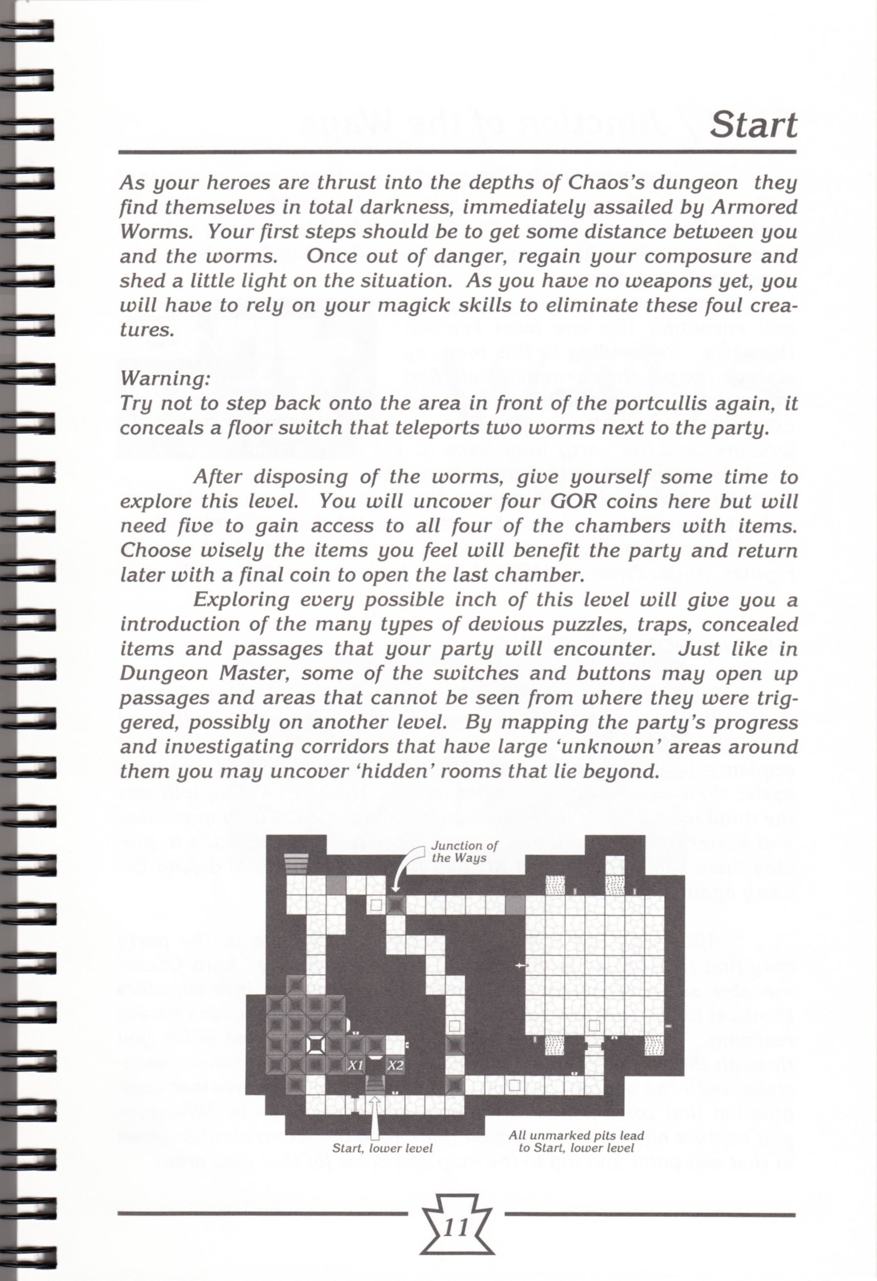 Hint Book - Chaos Strikes Back Adventurer's Handbook - US - Page 017 - Scan
