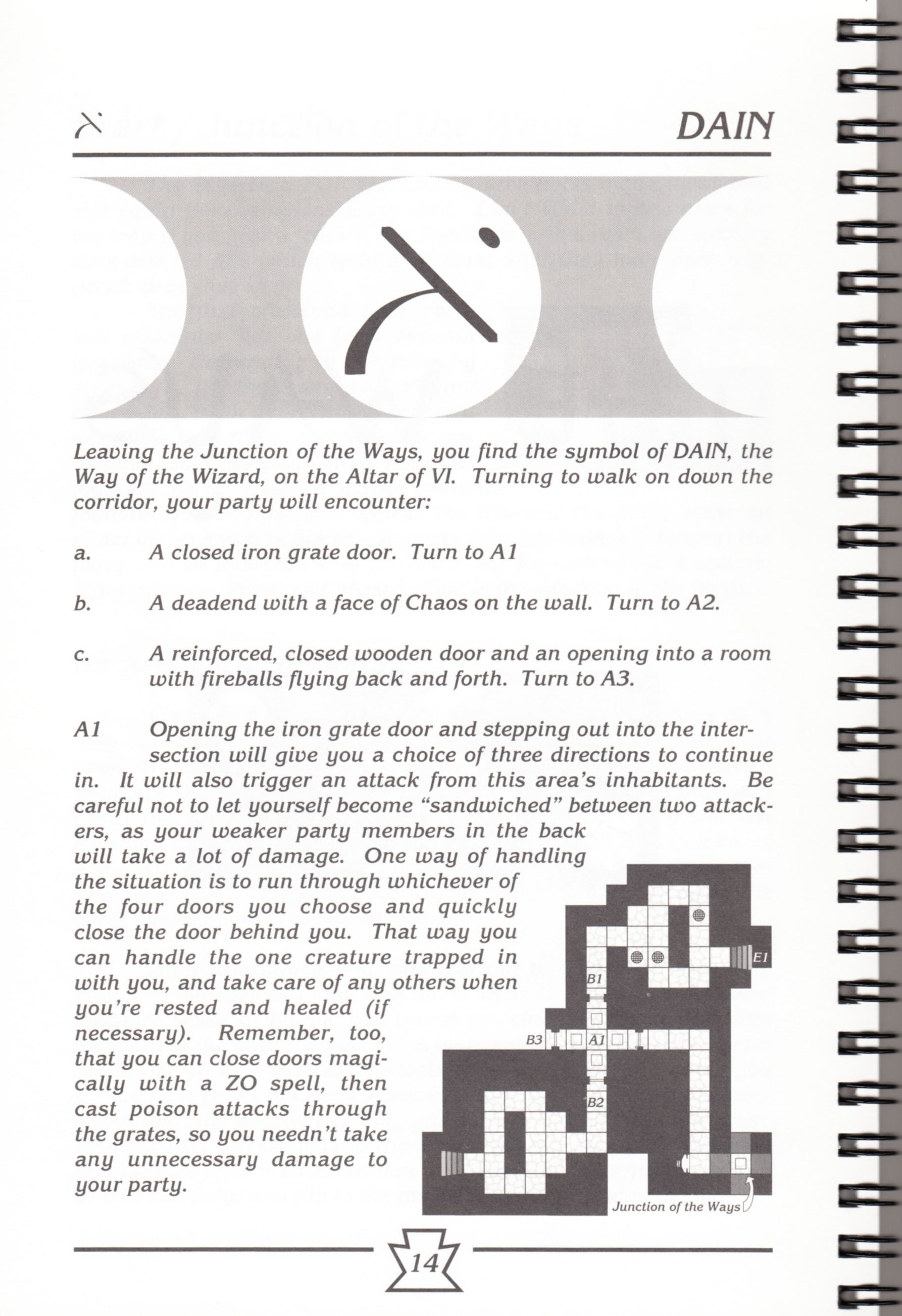 Hint Book - Chaos Strikes Back Adventurer's Handbook - US - Page 020 - Scan