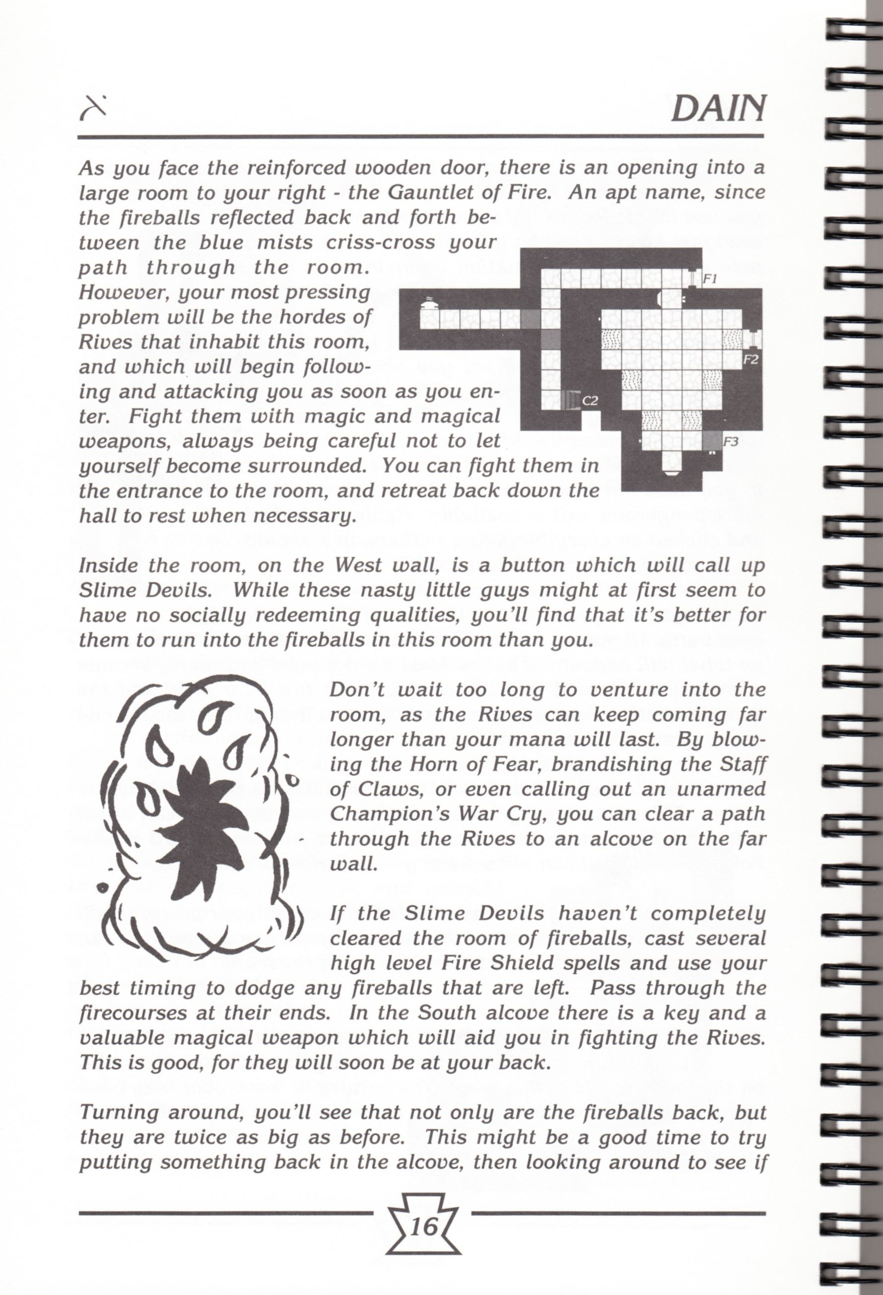 Hint Book - Chaos Strikes Back Adventurer's Handbook - US - Page 022 - Scan