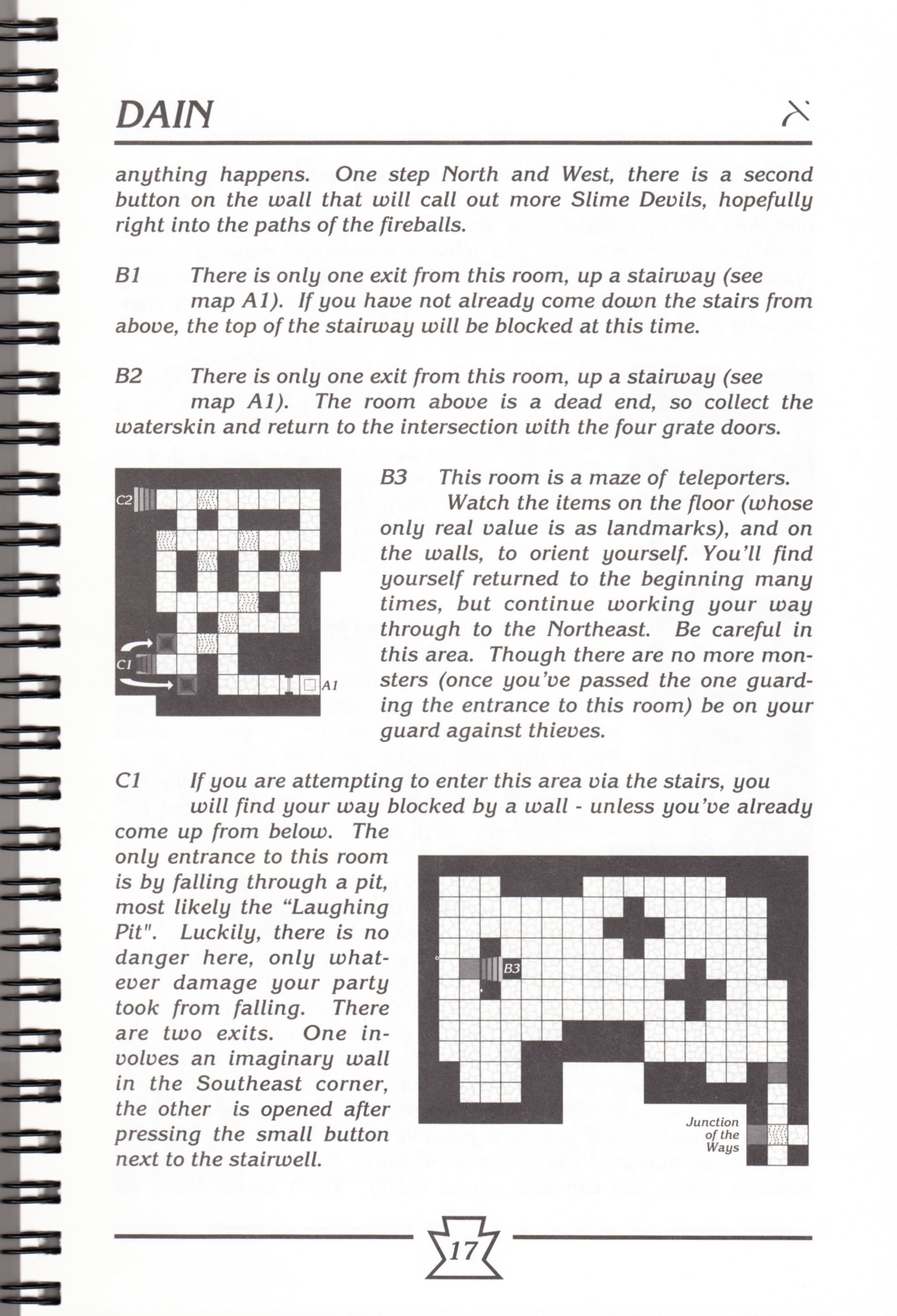 Hint Book - Chaos Strikes Back Adventurer's Handbook - US - Page 023 - Scan
