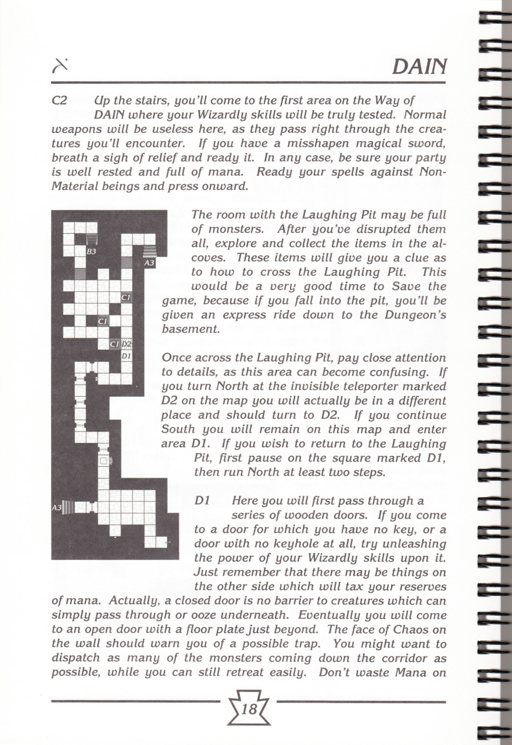 Hint Book - Chaos Strikes Back Adventurer's Handbook - US - Page 024 - Scan