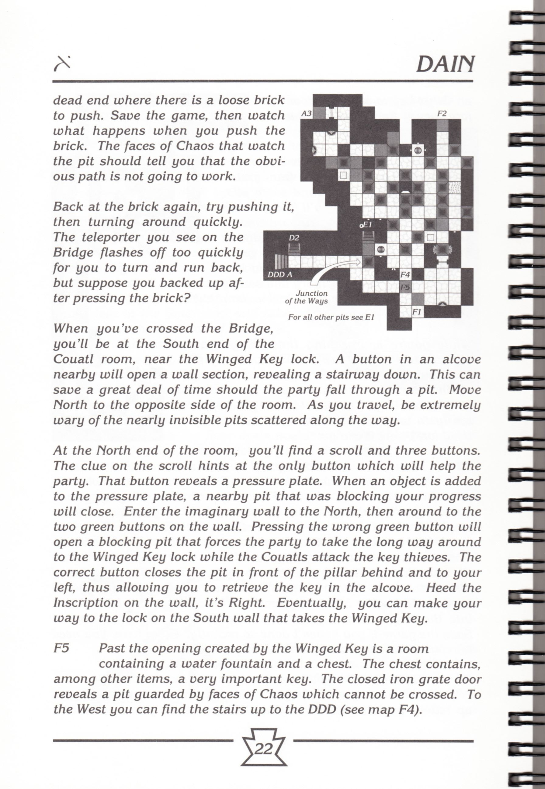 Hint Book - Chaos Strikes Back Adventurer's Handbook - US - Page 028 - Scan