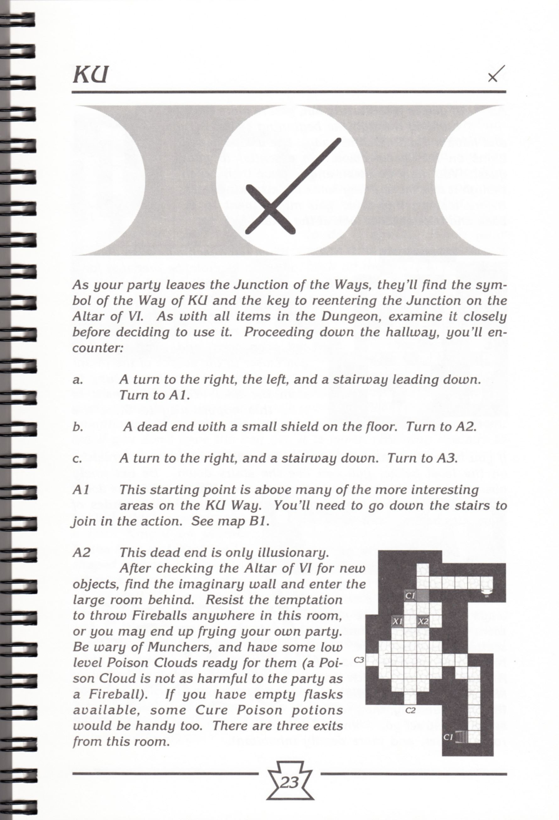 Hint Book - Chaos Strikes Back Adventurer's Handbook - US - Page 029 - Scan