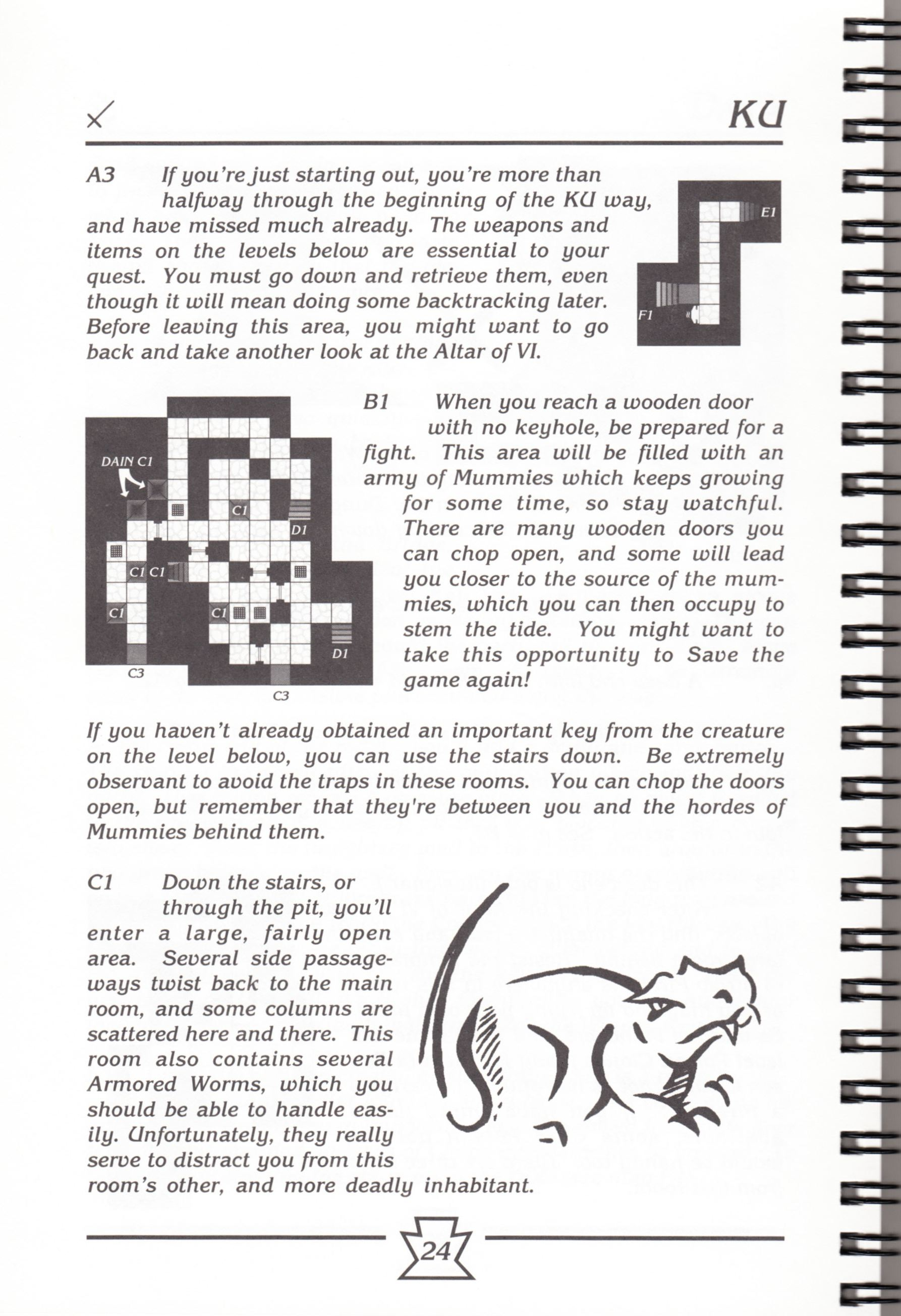 Hint Book - Chaos Strikes Back Adventurer's Handbook - US - Page 030 - Scan