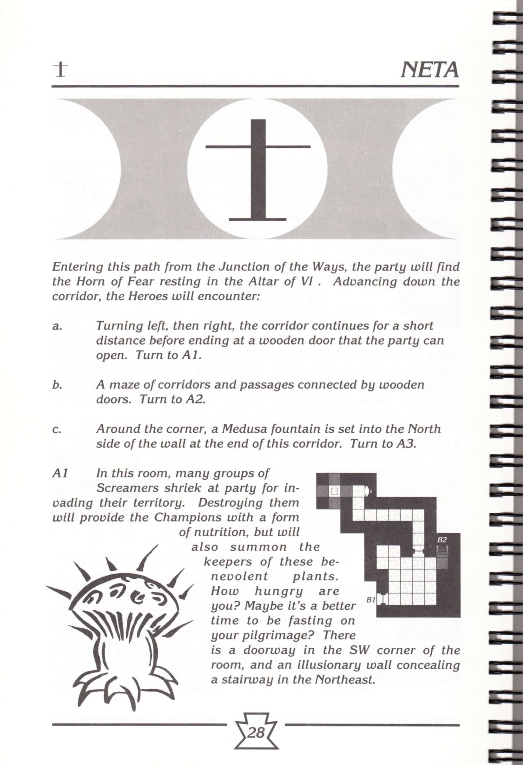 Hint Book - Chaos Strikes Back Adventurer's Handbook - US - Page 034 - Scan