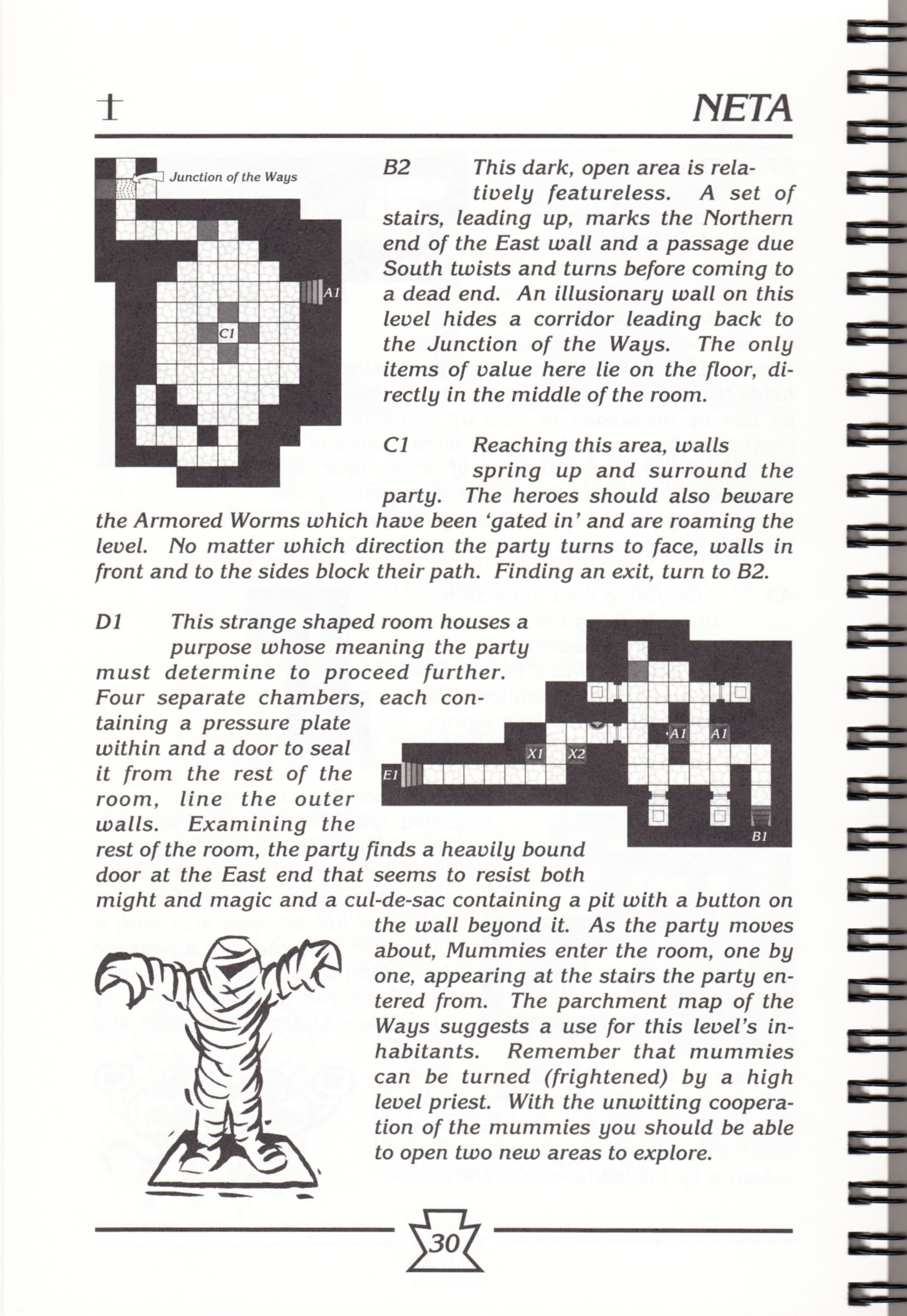 Hint Book - Chaos Strikes Back Adventurer's Handbook - US - Page 036 - Scan