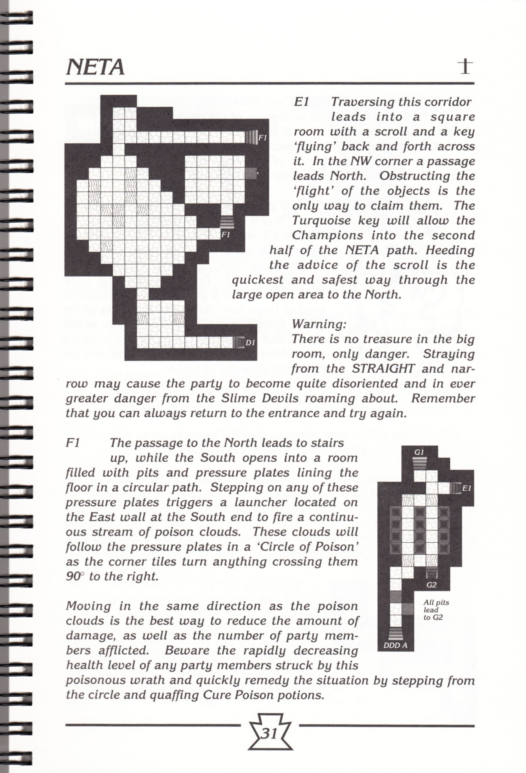 Hint Book - Chaos Strikes Back Adventurer's Handbook - US - Page 037 - Scan