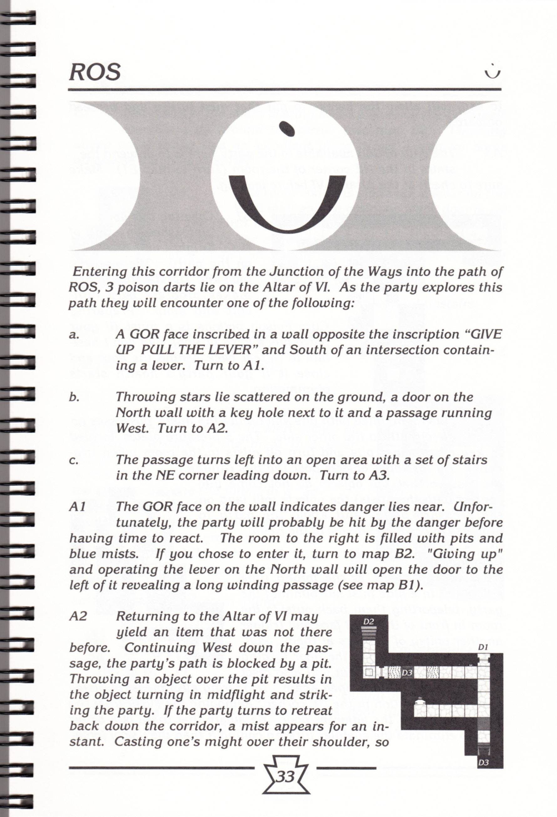 Hint Book - Chaos Strikes Back Adventurer's Handbook - US - Page 039 - Scan