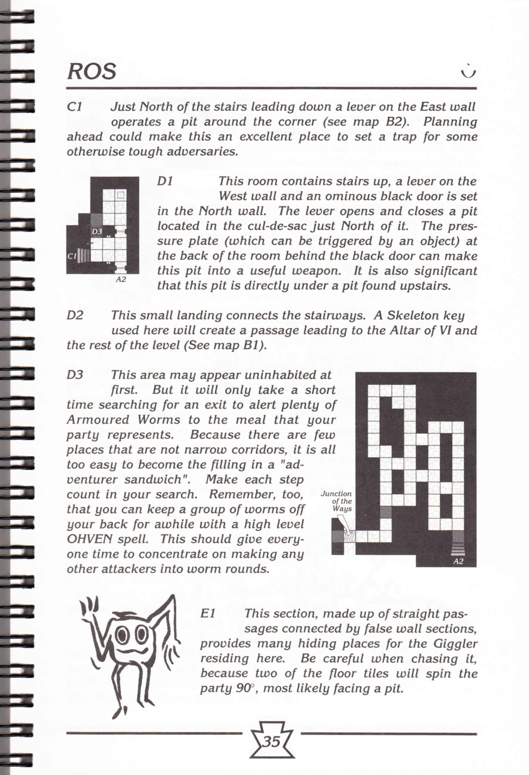Hint Book - Chaos Strikes Back Adventurer's Handbook - US - Page 041 - Scan