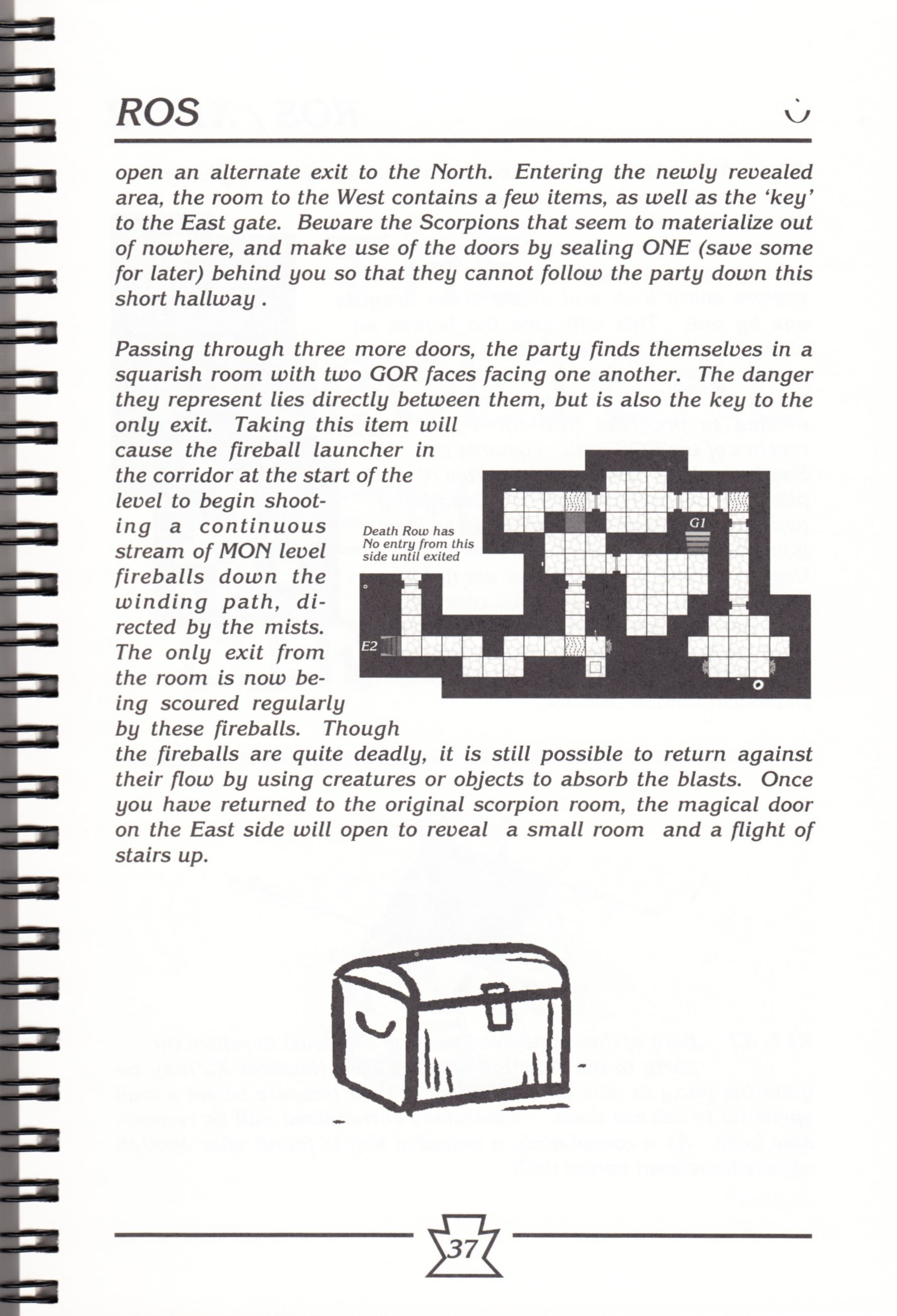 Hint Book - Chaos Strikes Back Adventurer's Handbook - US - Page 043 - Scan