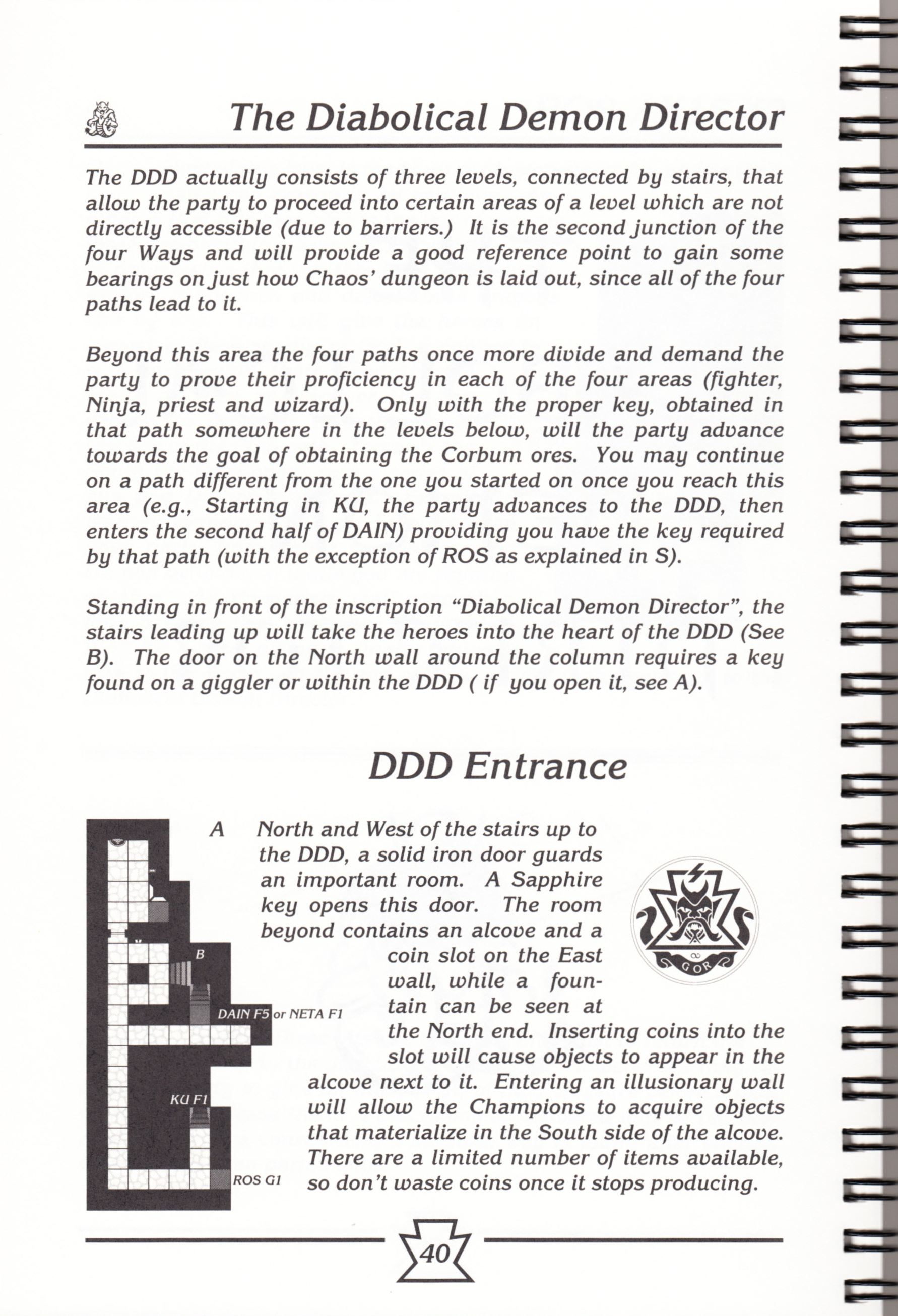 Hint Book - Chaos Strikes Back Adventurer's Handbook - US - Page 046 - Scan